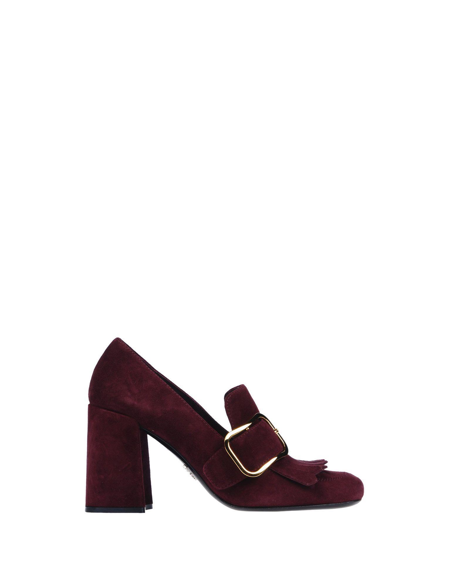 Deep Purple Heeled Shoes