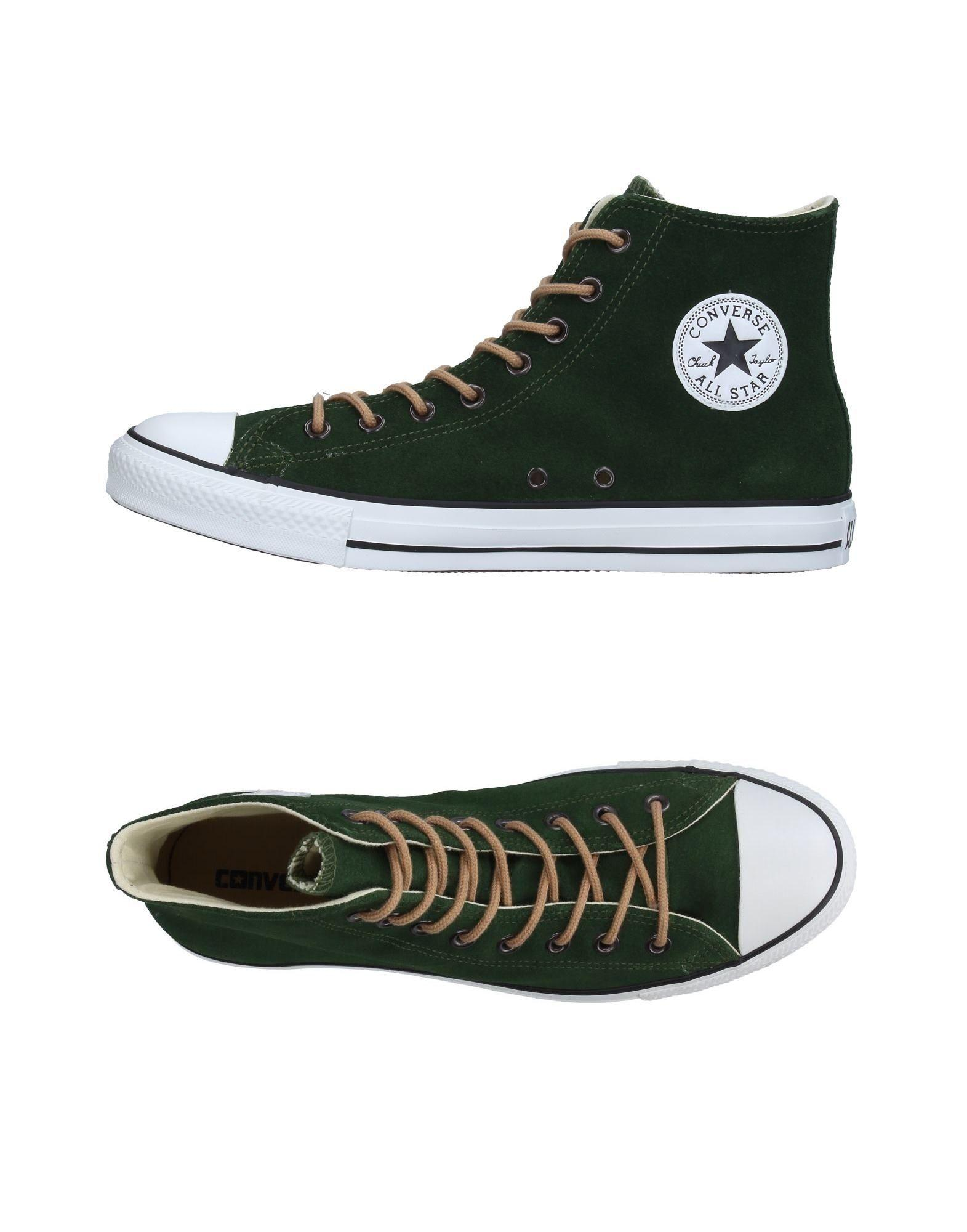 Lyst - Converse High-tops & Sneakers in Green for Men