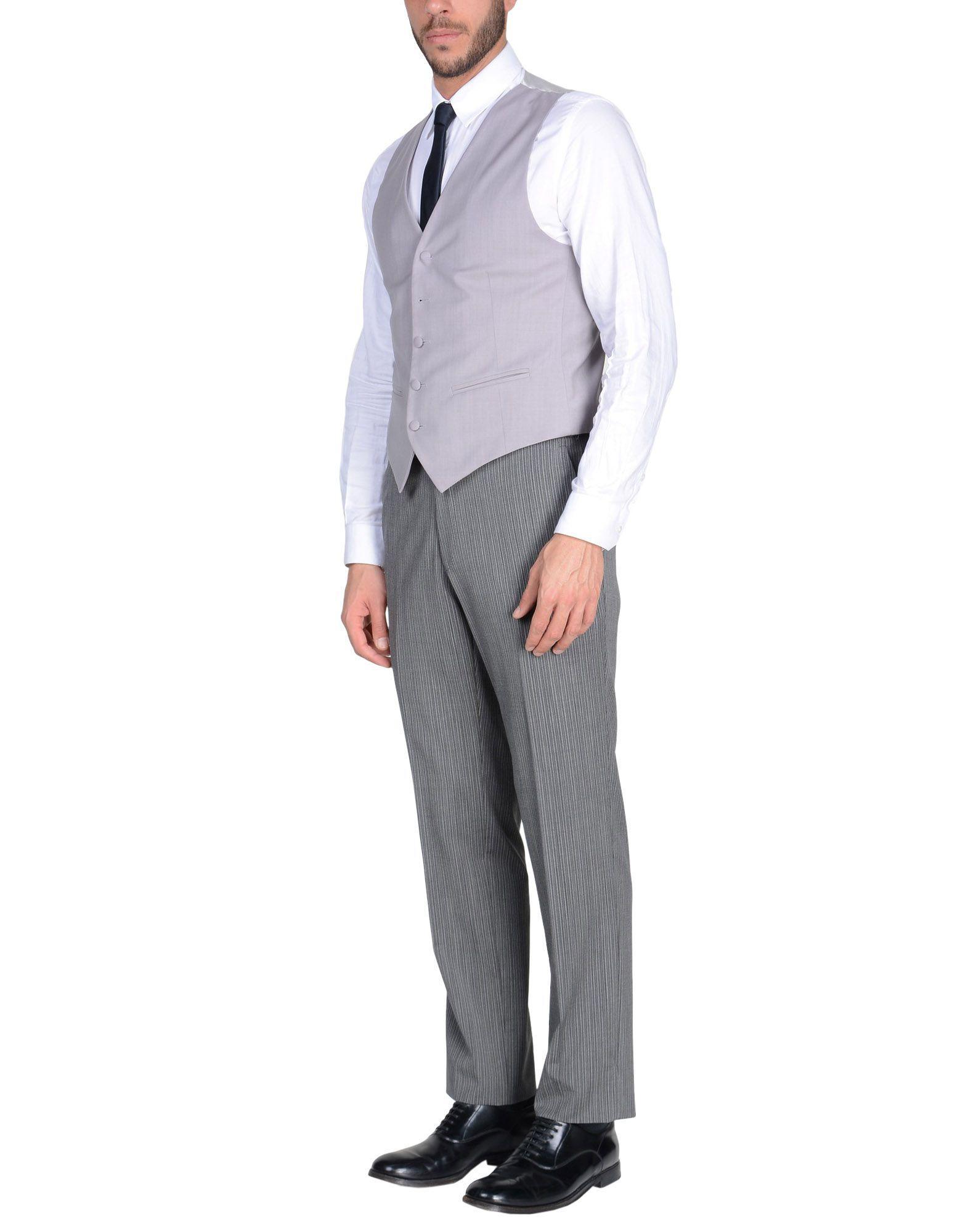 cd5e603febdb Lyst - Costume Tombolini pour homme en coloris Gris