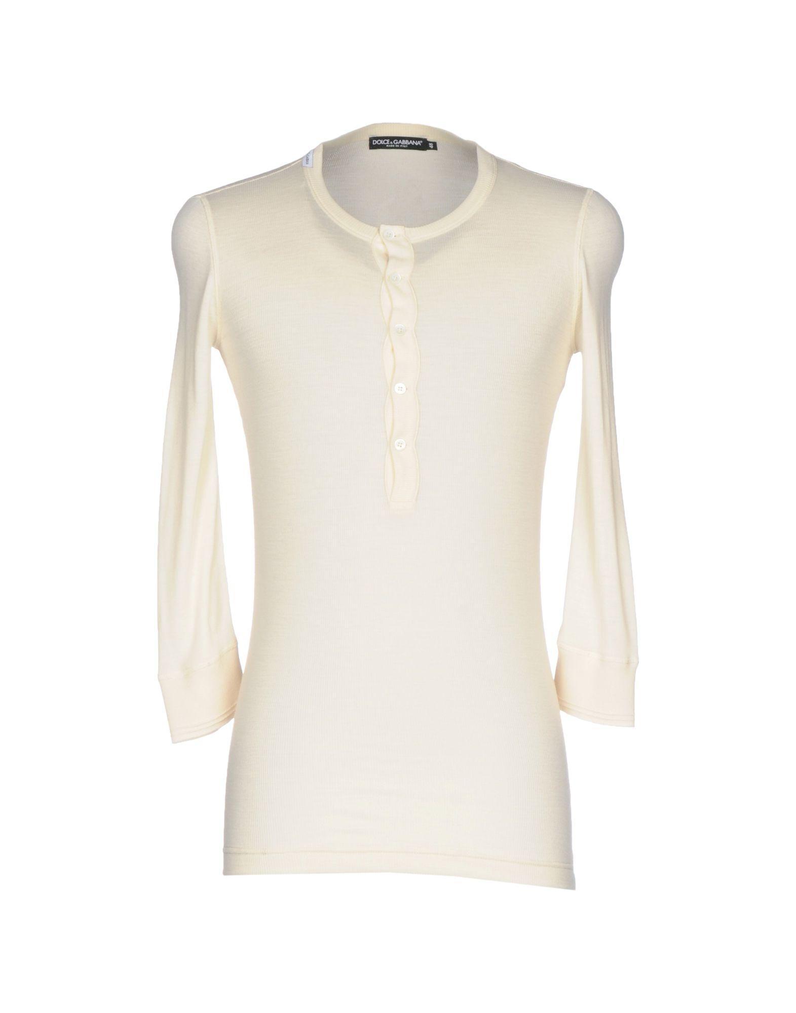 Lyst dolce gabbana t shirt in natural for Dolce gabbana t shirt women