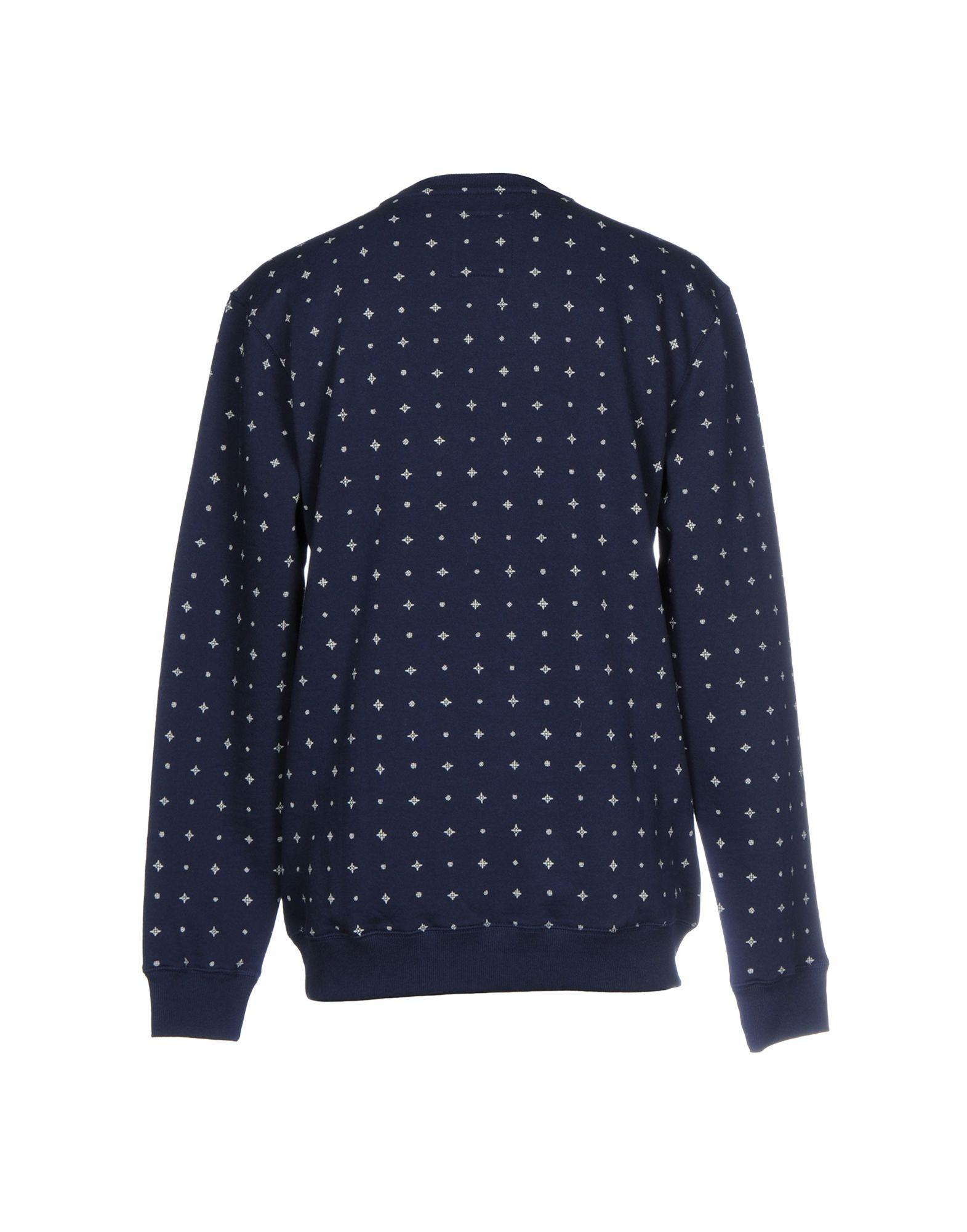 Vans sweatshirt in blue for men lyst for 20 34 35 dress shirts