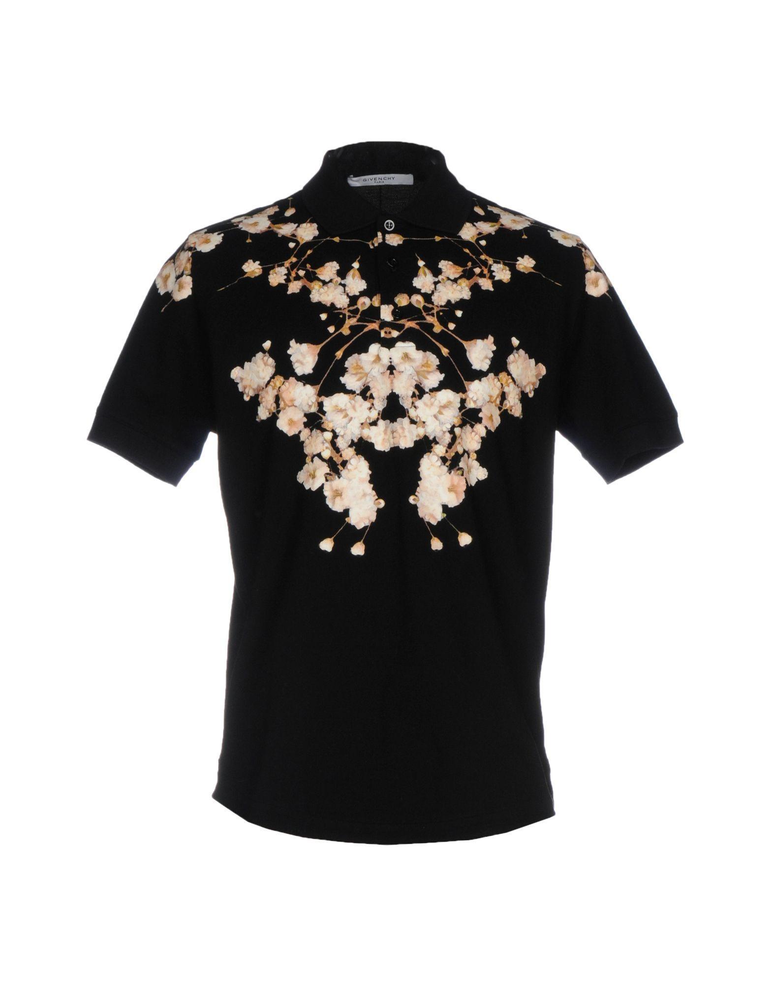 givenchy polo shirt in black for men lyst. Black Bedroom Furniture Sets. Home Design Ideas