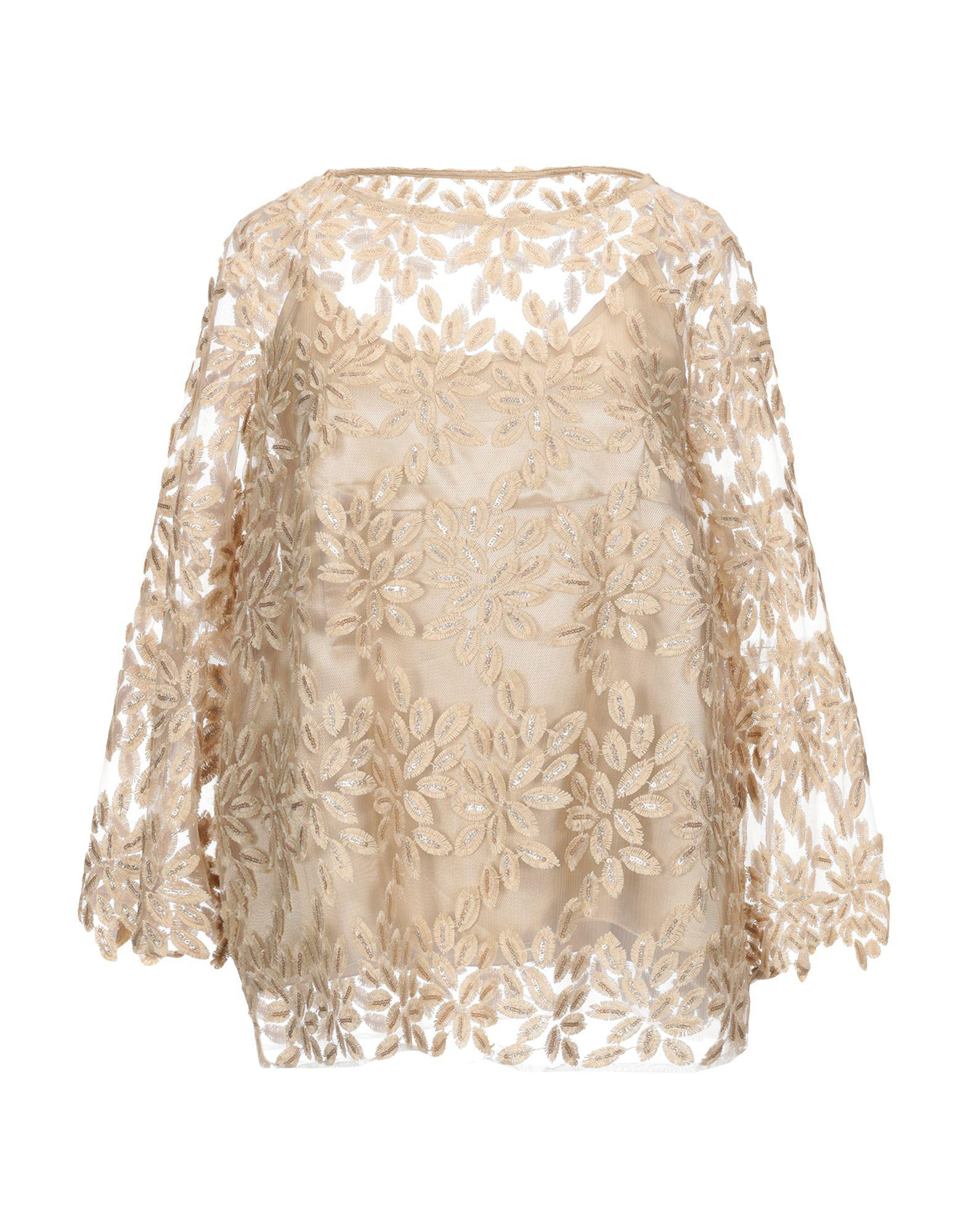 59a8a777f46df8 Ottod Ame Blouse in Natural - Save 19% - Lyst
