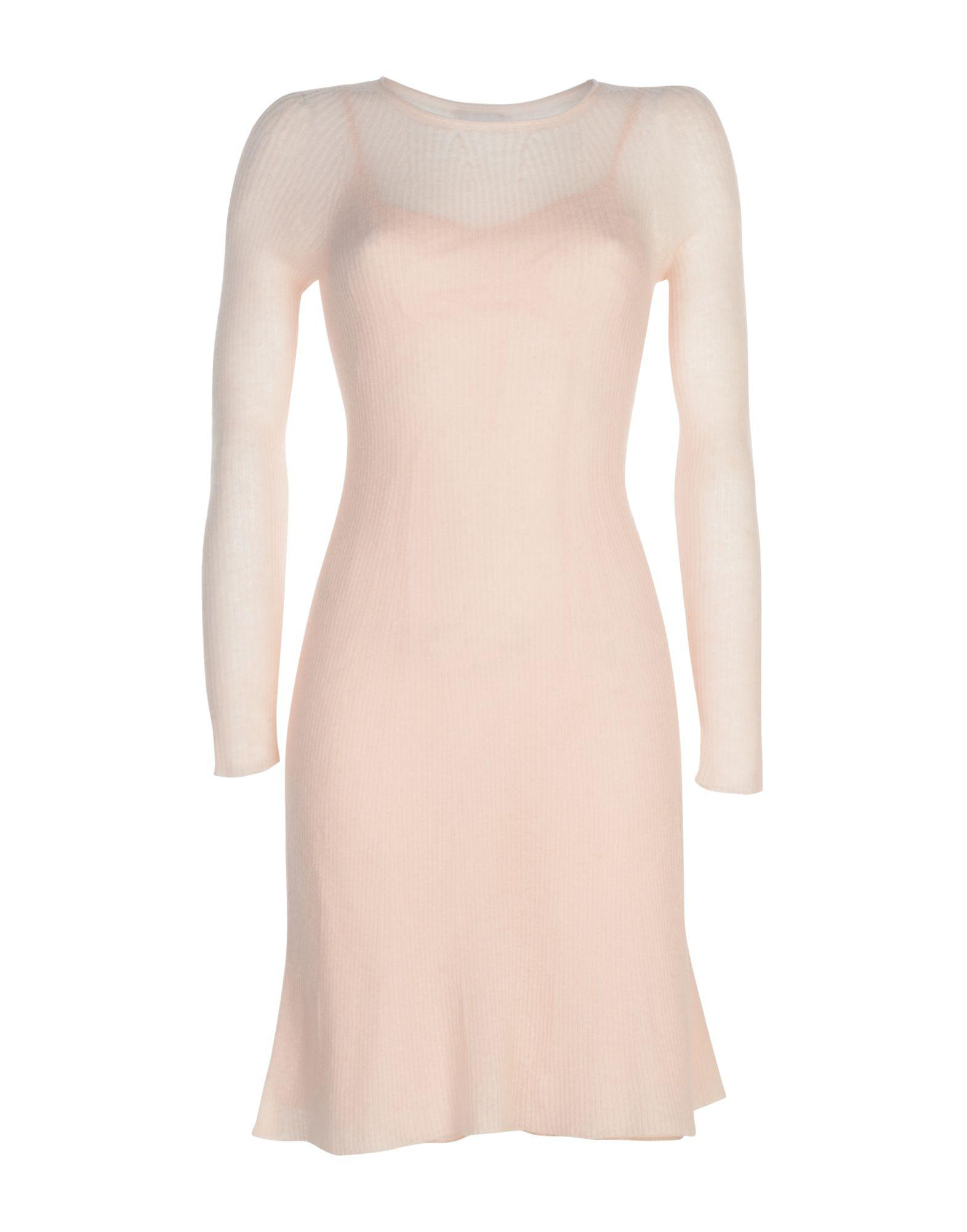 089b63e7c0 Lyst - Philosophy di Alberta Ferretti Short Dress in Pink