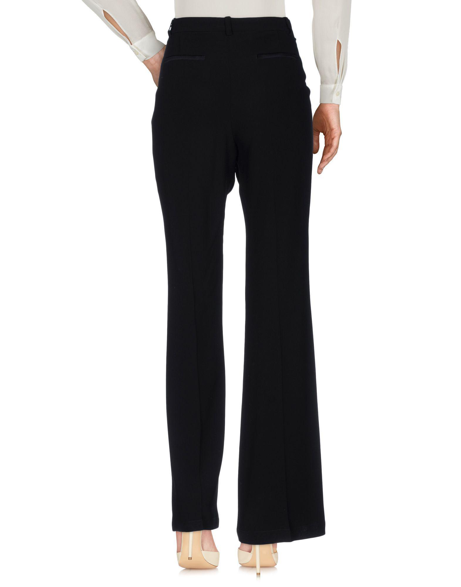 Pantalon En Coloris Noir Lyst Pinko JcKTlF1