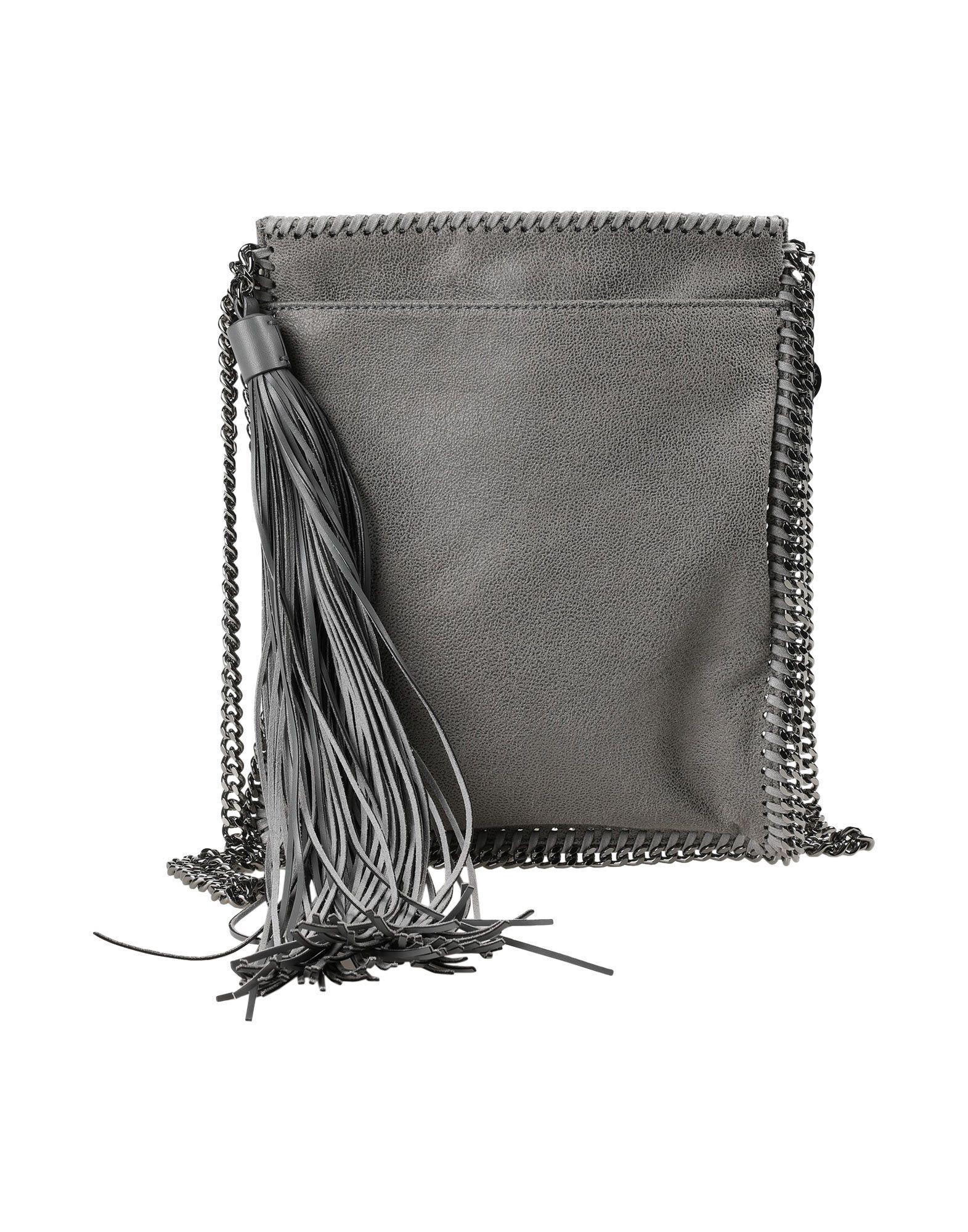 67b5ca219acd Lyst - Stella Mccartney Cross-body Bag in Gray