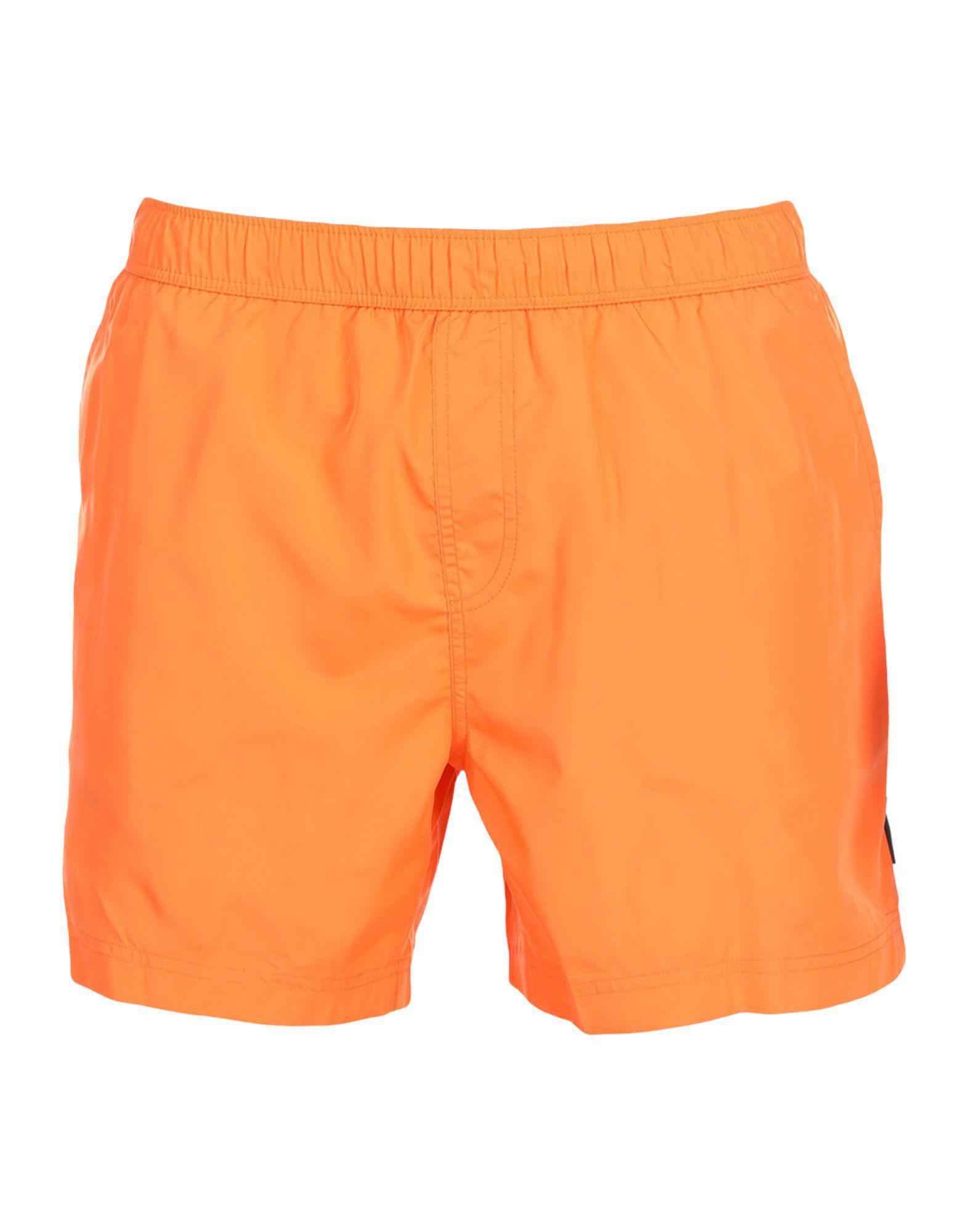 95d9d96fe5 Lyst - Ermenegildo Zegna Swim Trunks in Orange for Men