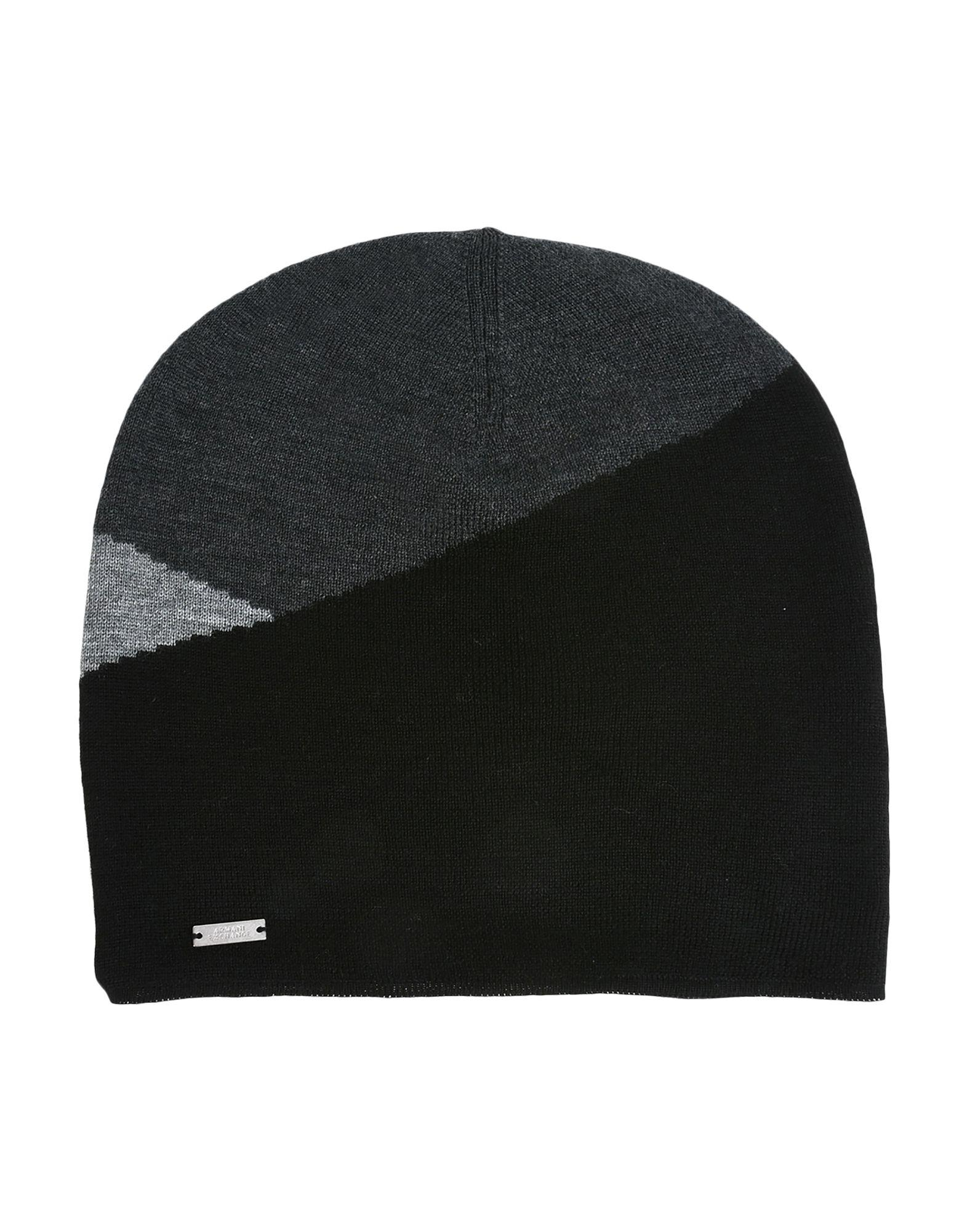 49cd4f370ae Armani Exchange Hat in Black for Men - Lyst