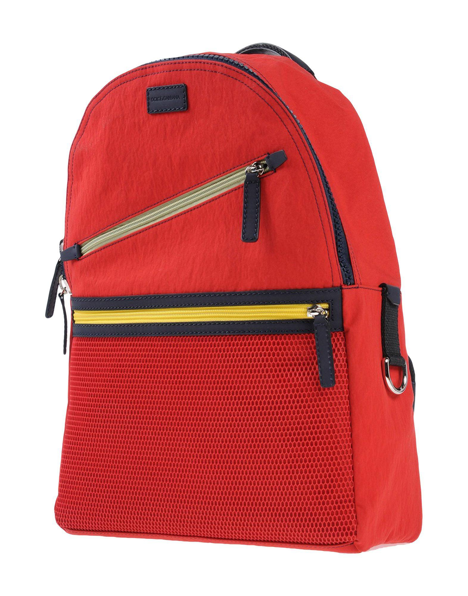 8d1f35bfeb67 Lyst - Dolce   Gabbana Backpacks   Bum Bags in Red for Men