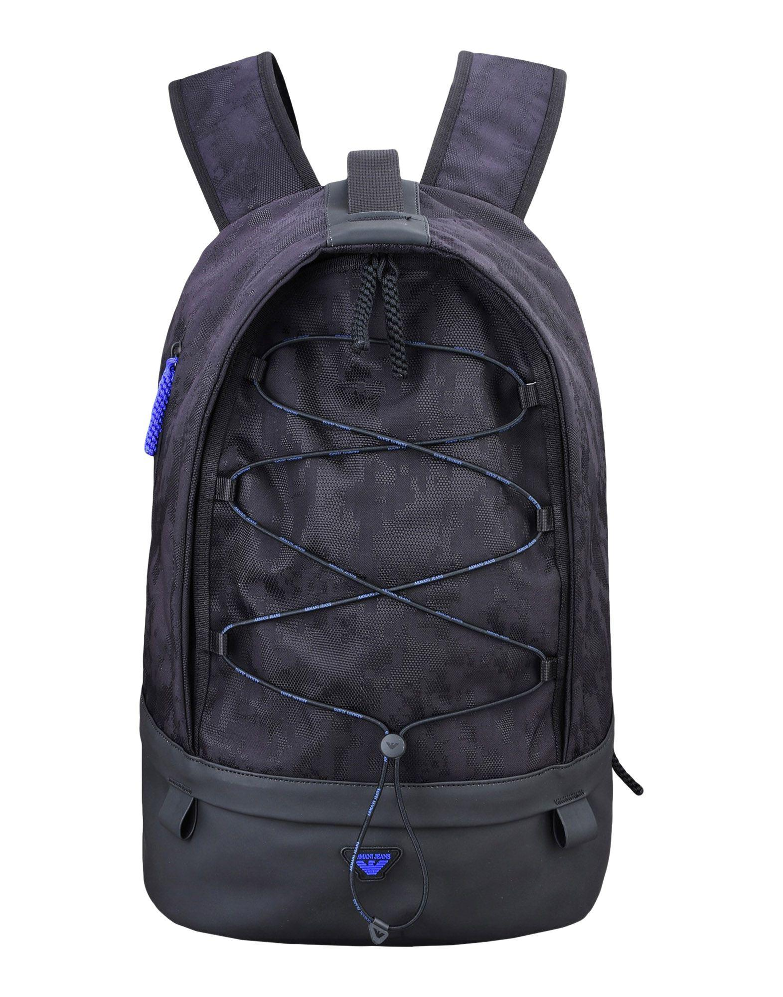 d198f1287705 Lyst - Armani Jeans Backpacks   Fanny Packs in Black for Men