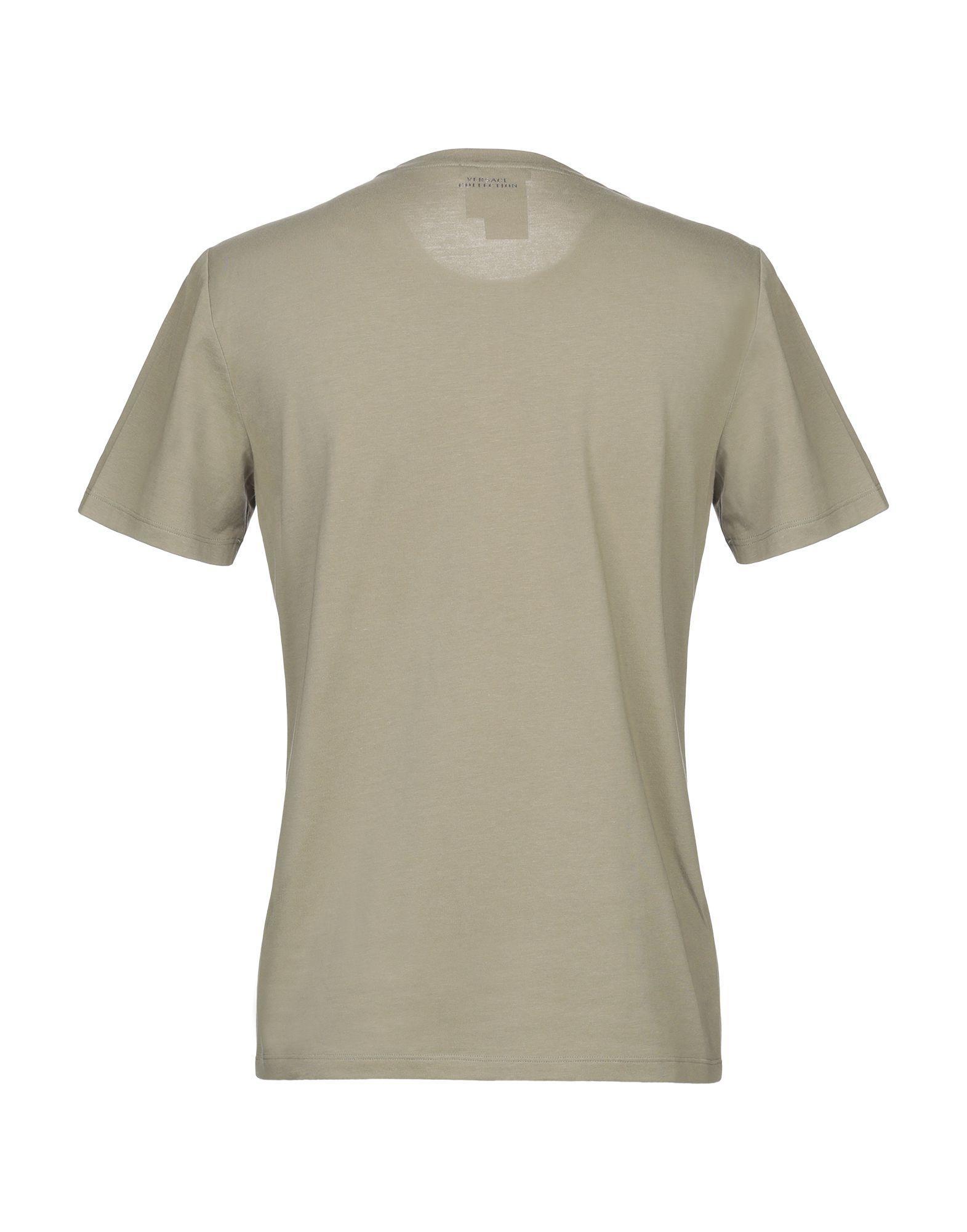 956625a9 Versace T-shirt in Green for Men - Lyst