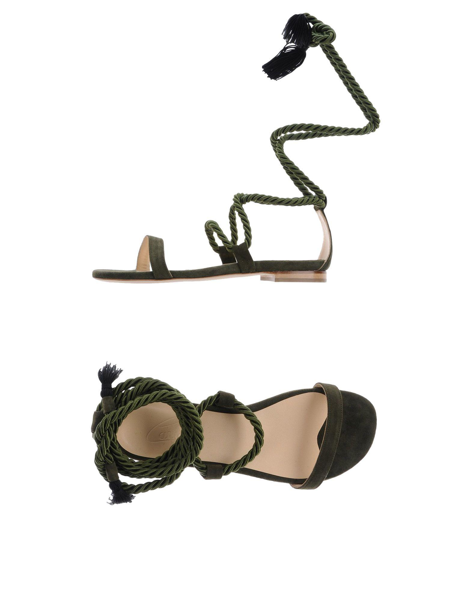 FOOTWEAR - Toe post sandals Carla Saint Barth Siaol2JF