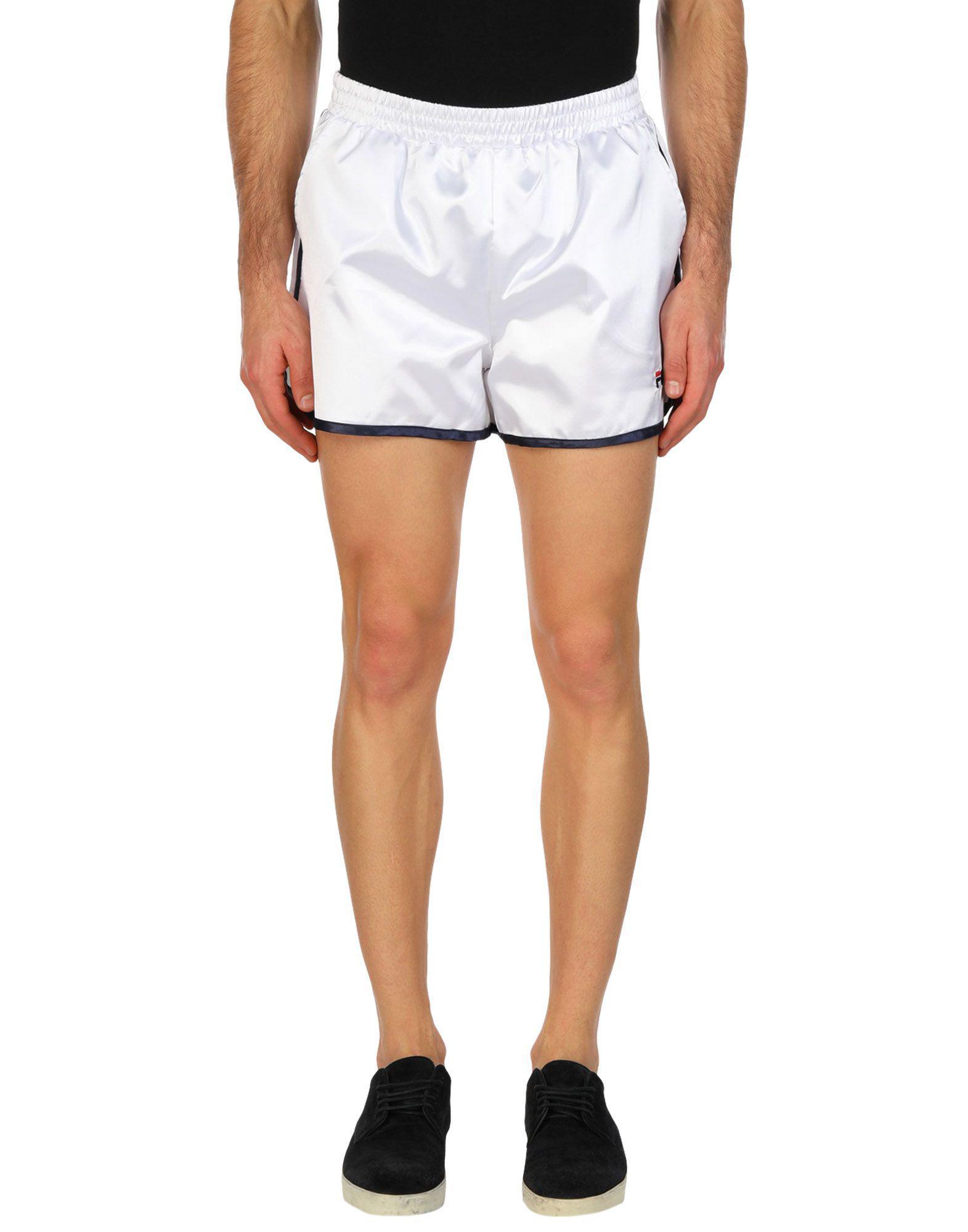 48f92123dd20a Lyst - Fila Shorts in White for Men