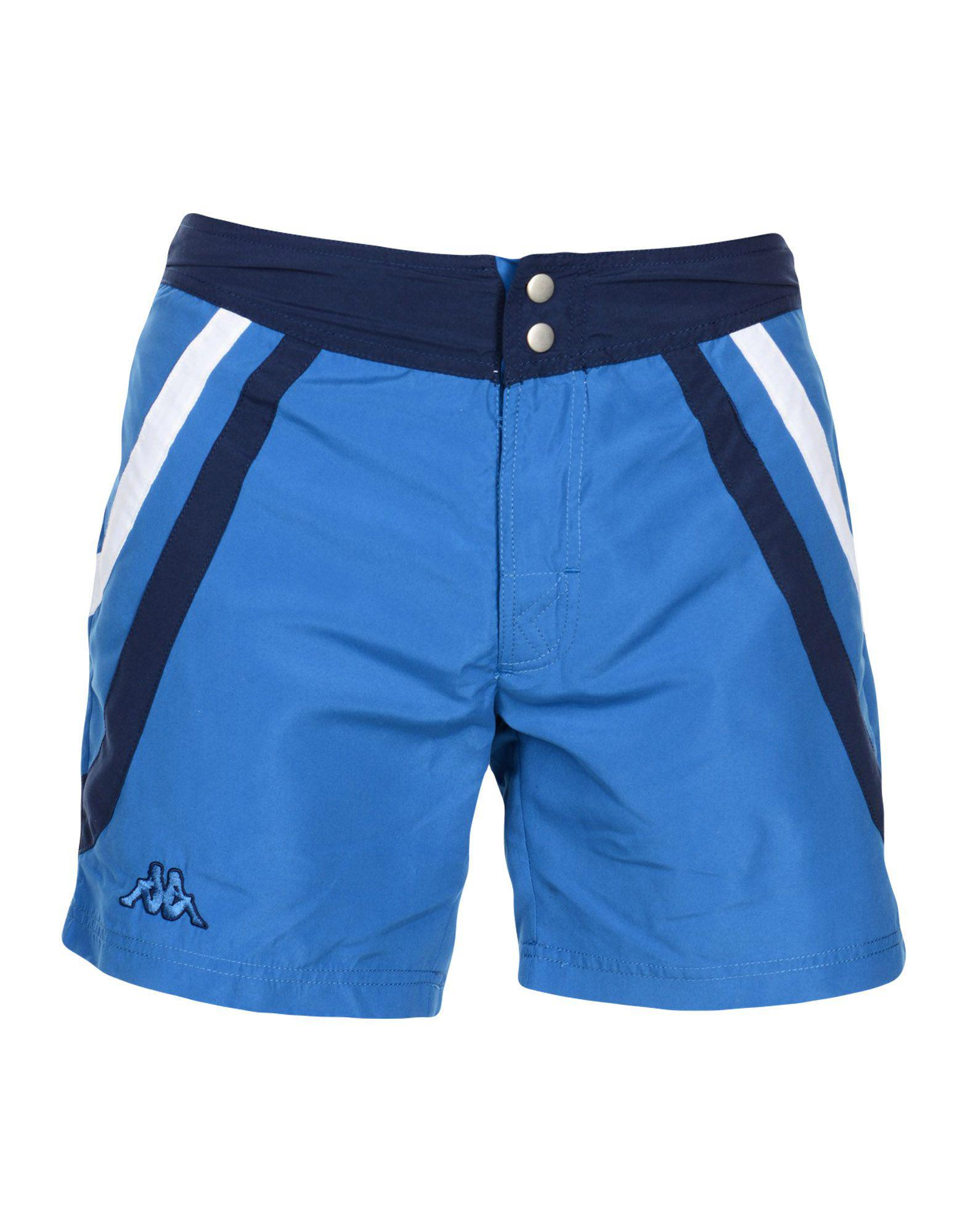 7ad8e4d53508e Lyst - Kappa Swimming Trunks in Blue for Men