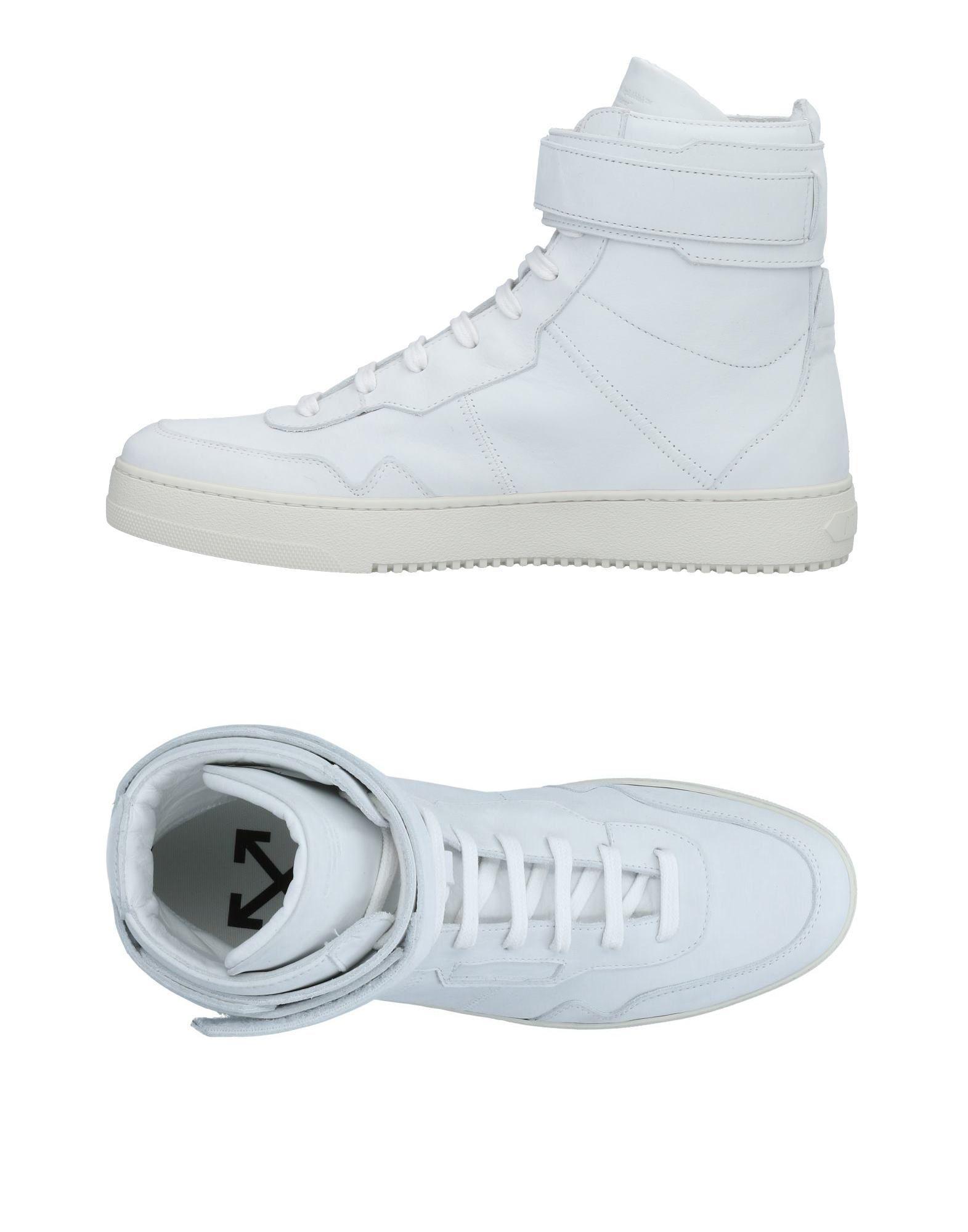 edb3482cbe91 Lyst - Off-White C O Virgil Abloh High-tops   Sneakers in White