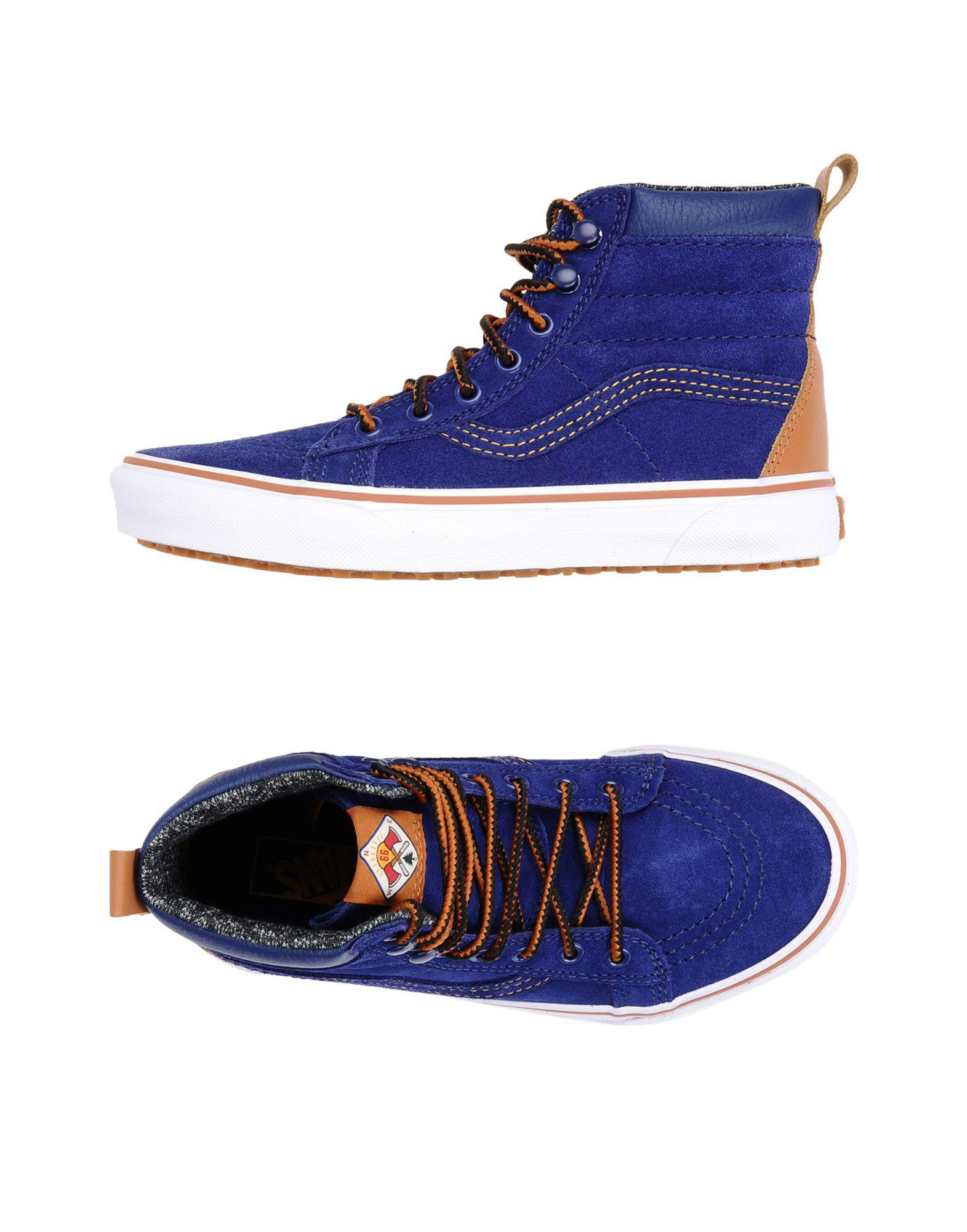 61443acfdd Lyst - Vans High-tops   Sneakers in Blue for Men