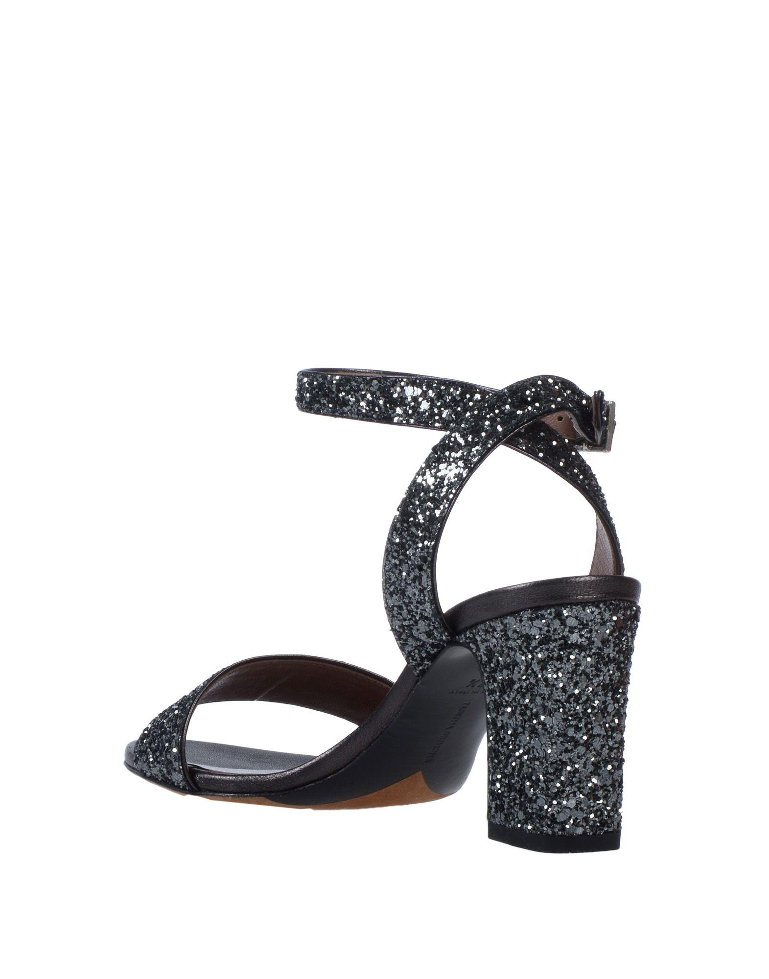 4892b43e581 Lyst - Tabitha Simmons Leticia Glitter Sandals in Gray - Save  31.5934065934066%