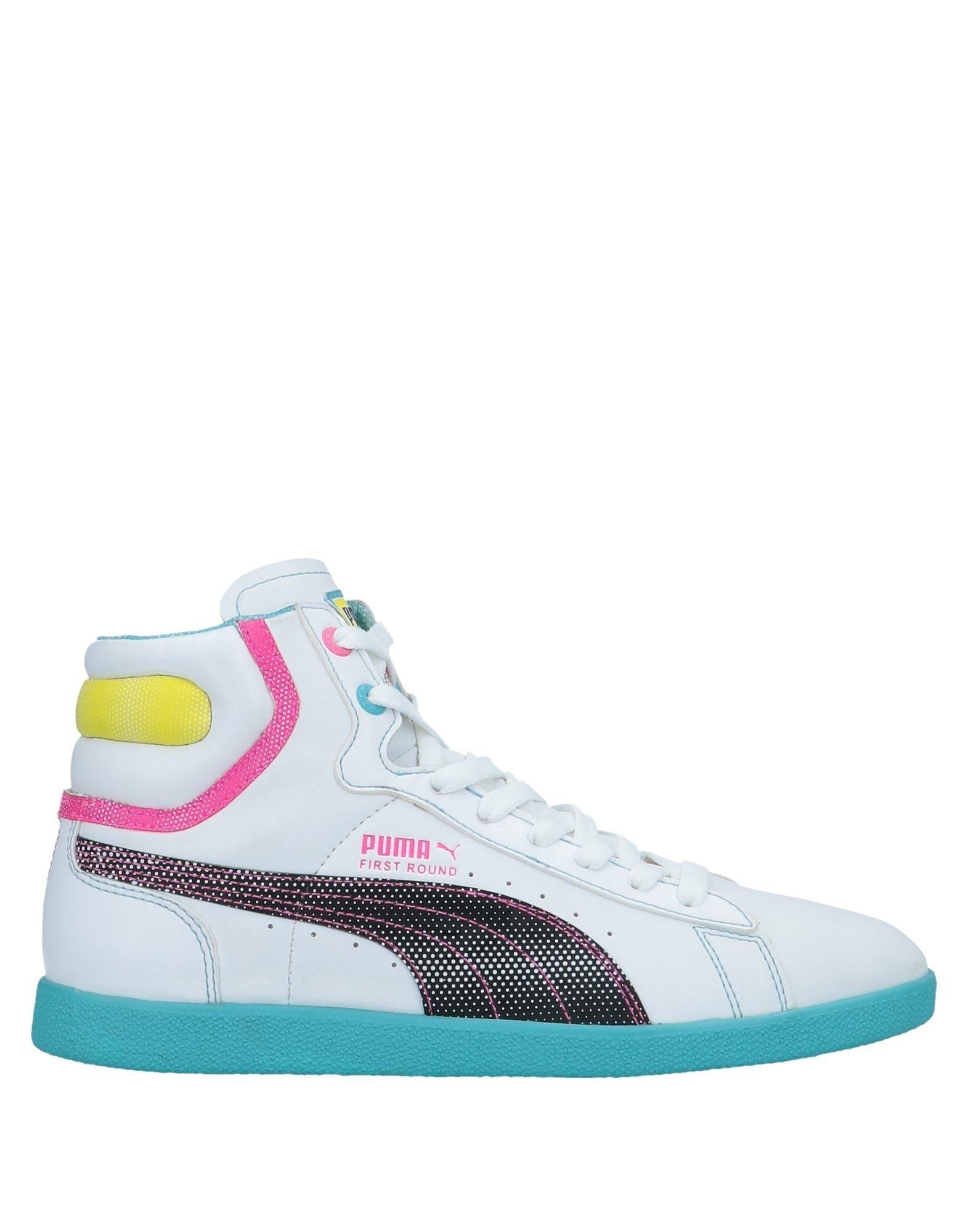8916c4711 Lyst - PUMA High-tops   Sneakers in White
