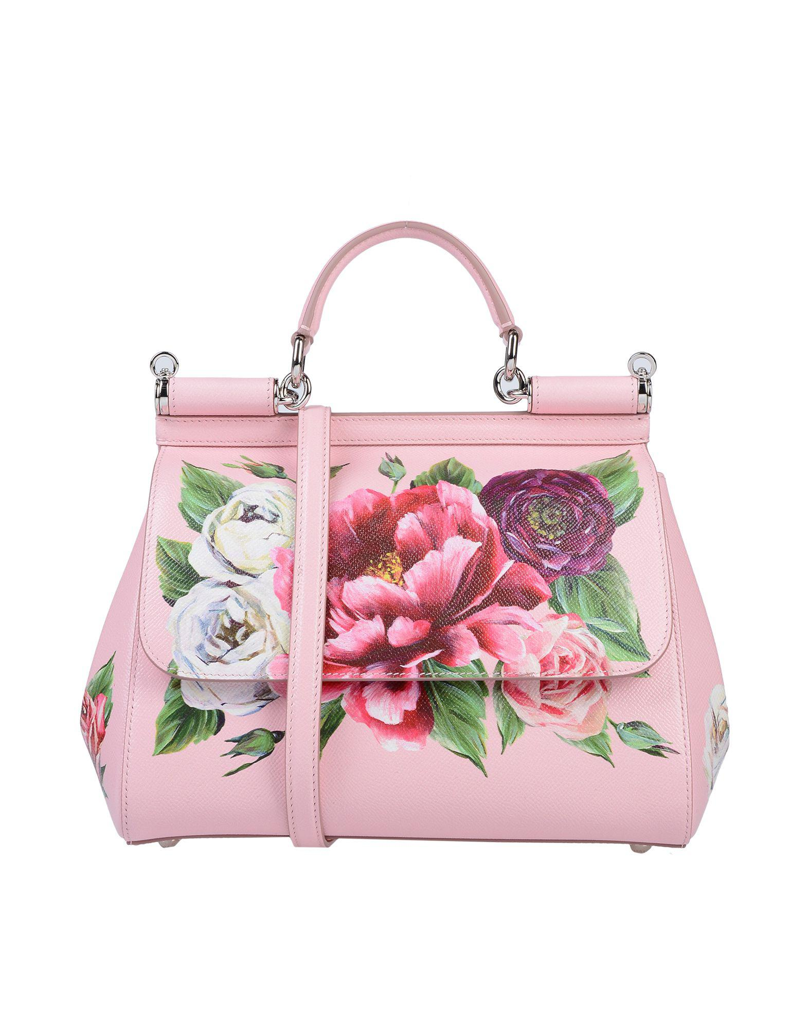 Lyst - Dolce   Gabbana Sicily Tote Bag in Pink - Save 49% 13f2fca229351