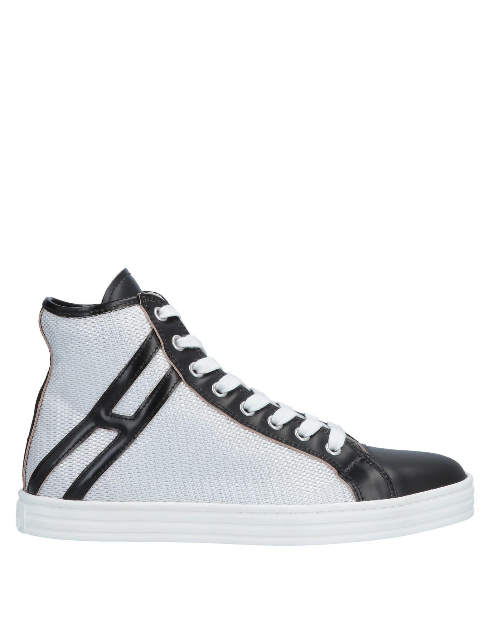 8ef024b896a Lyst - Hogan Rebel High-tops   Sneakers in Black