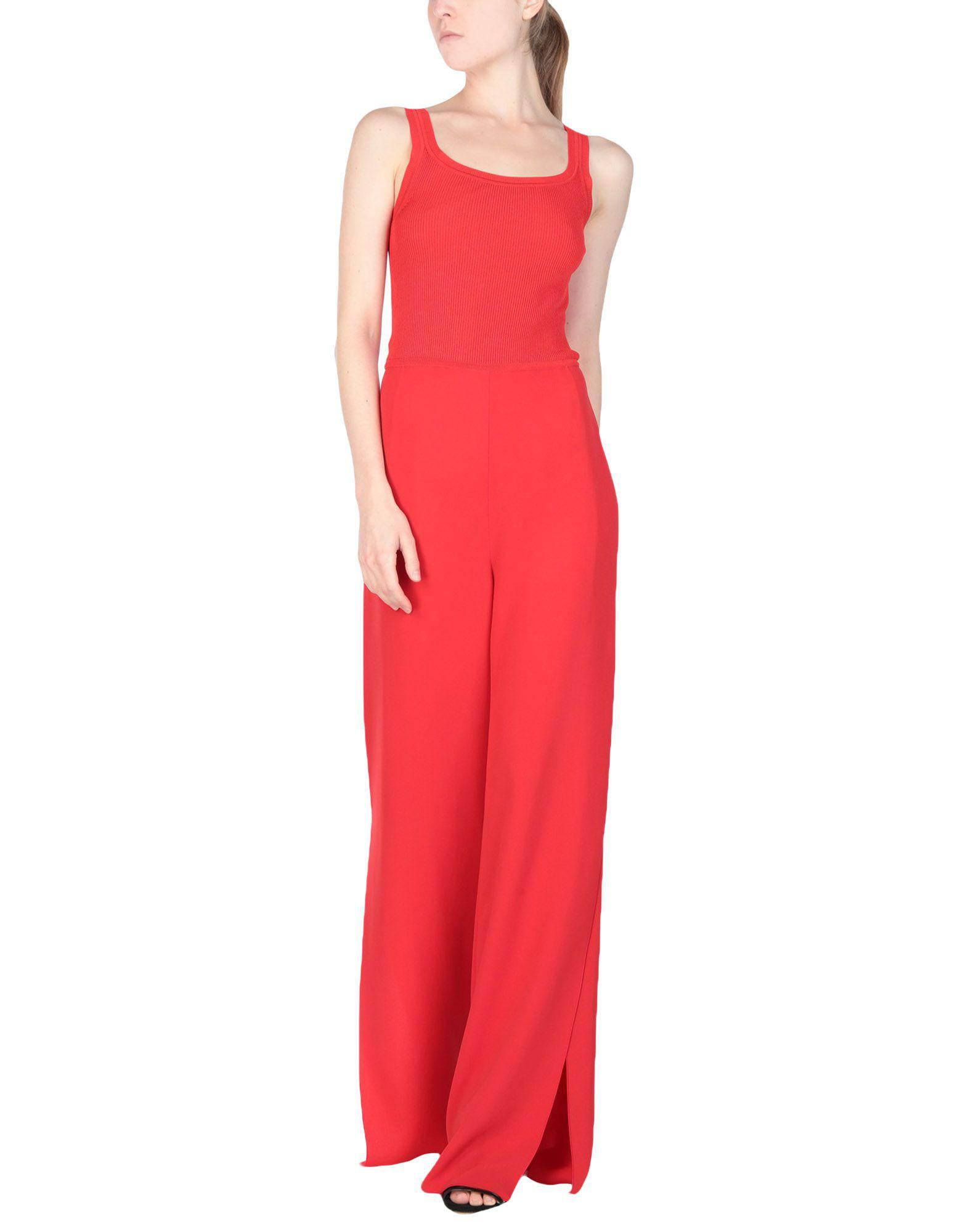 60036f1e4b4 Lyst - Max Mara Jumpsuit in Red