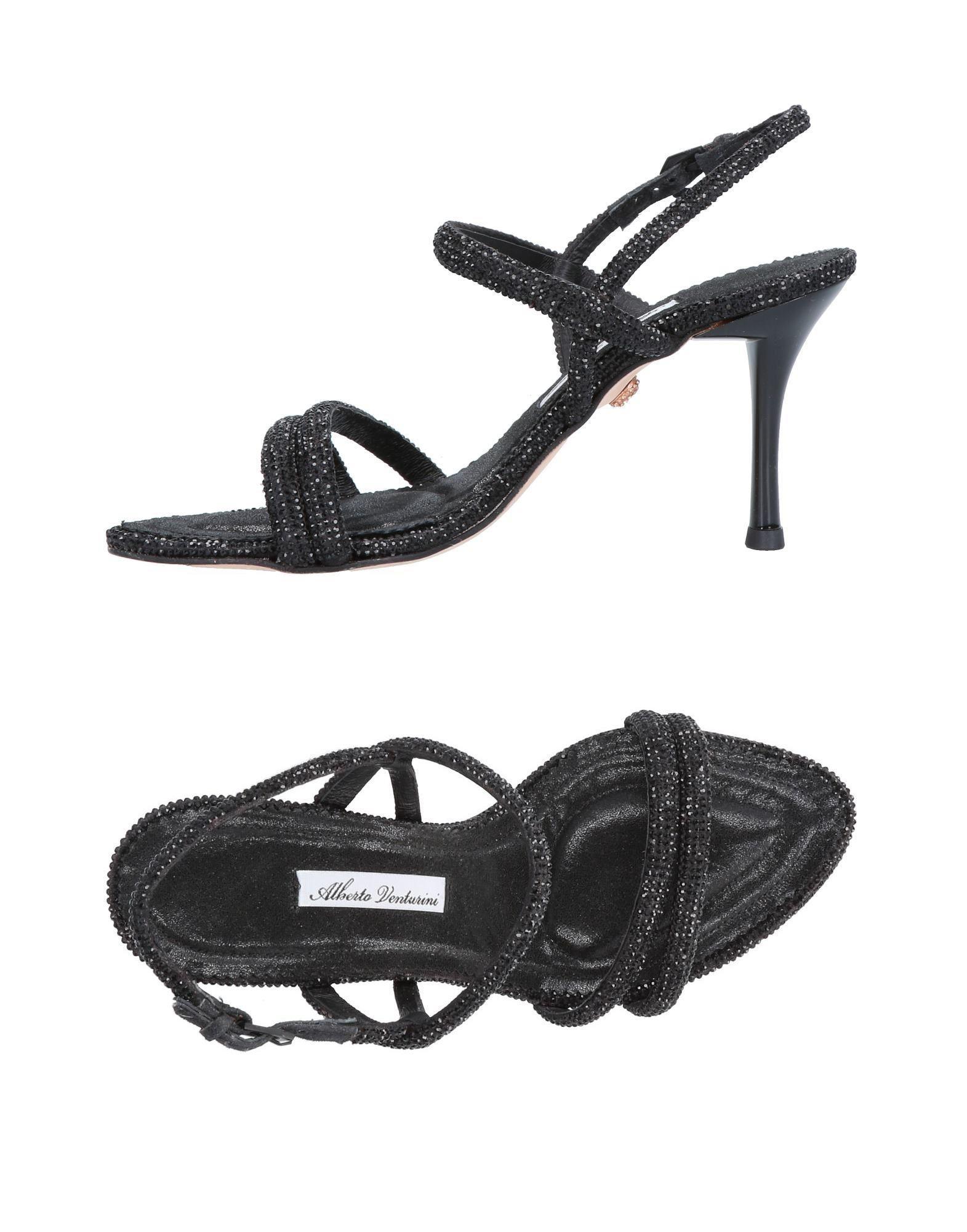 5cd38d1aa66c Lyst - Alberto Venturini Sandals in Black