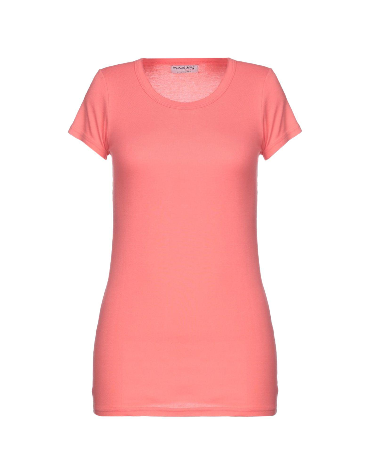 Lyst Michael Stars T Shirt In Pink