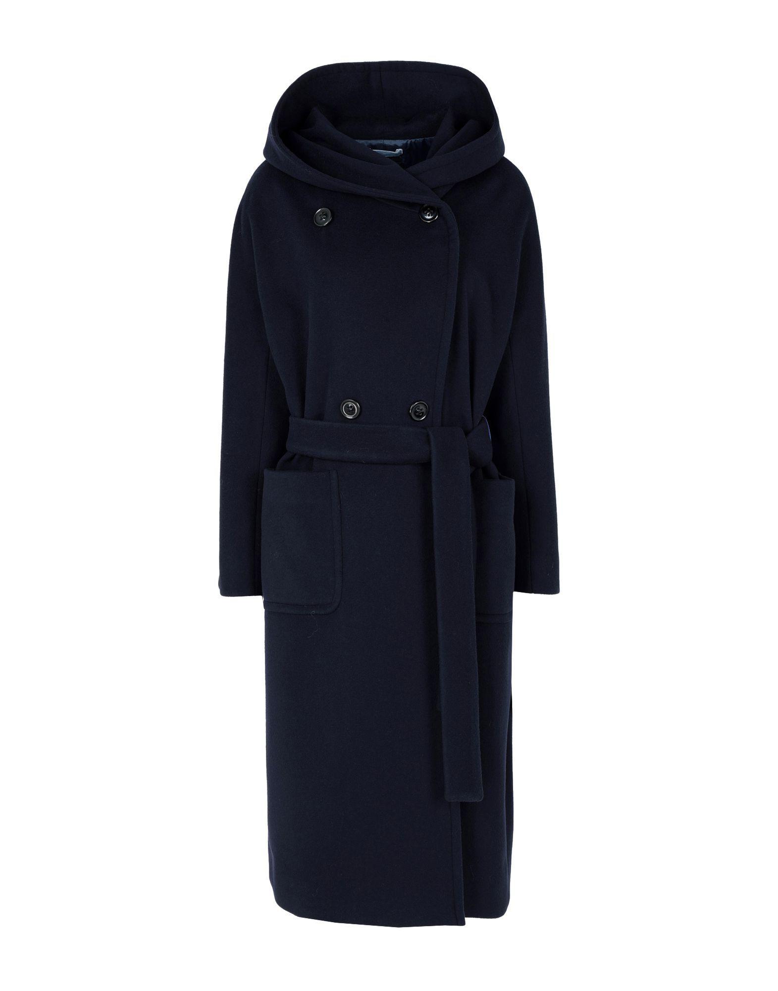 8d17defba0c4 Lyst - Paltò Coat in Blue