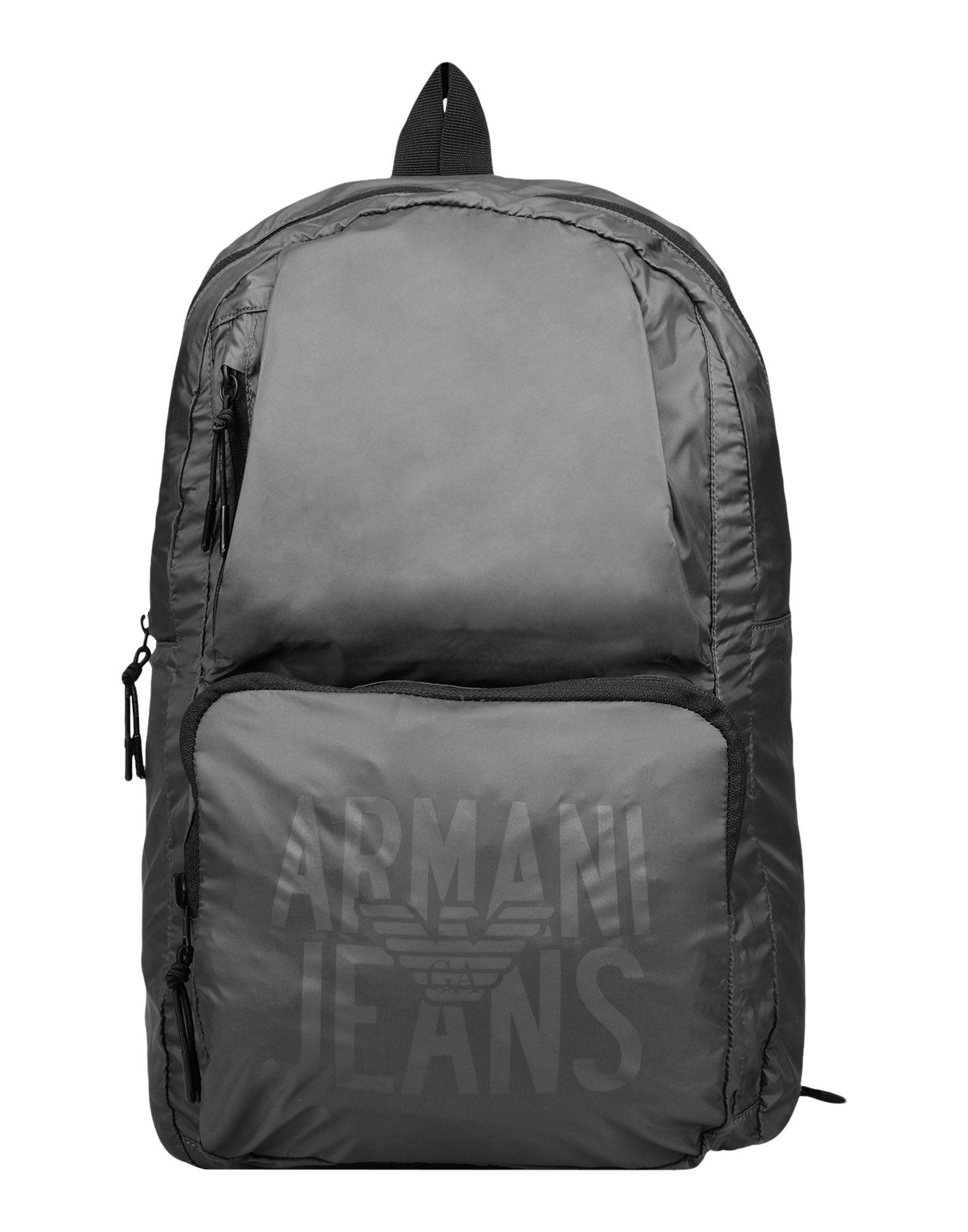 e36b6706be6d Lyst - Armani Jeans Backpacks   Fanny Packs in Gray for Men