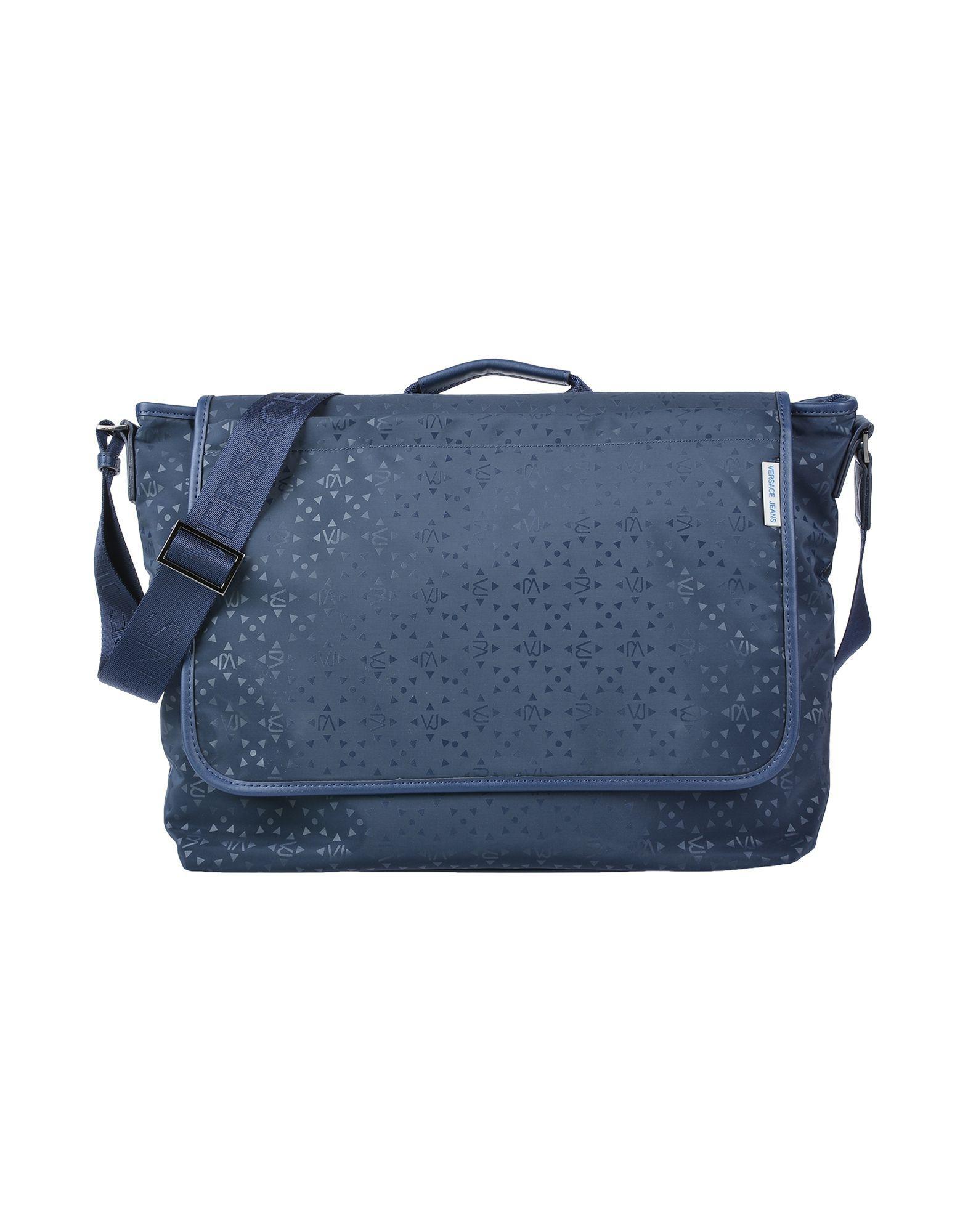 25a9feab1480 Versace Jeans - Blue Cross-body Bag - Lyst. View fullscreen