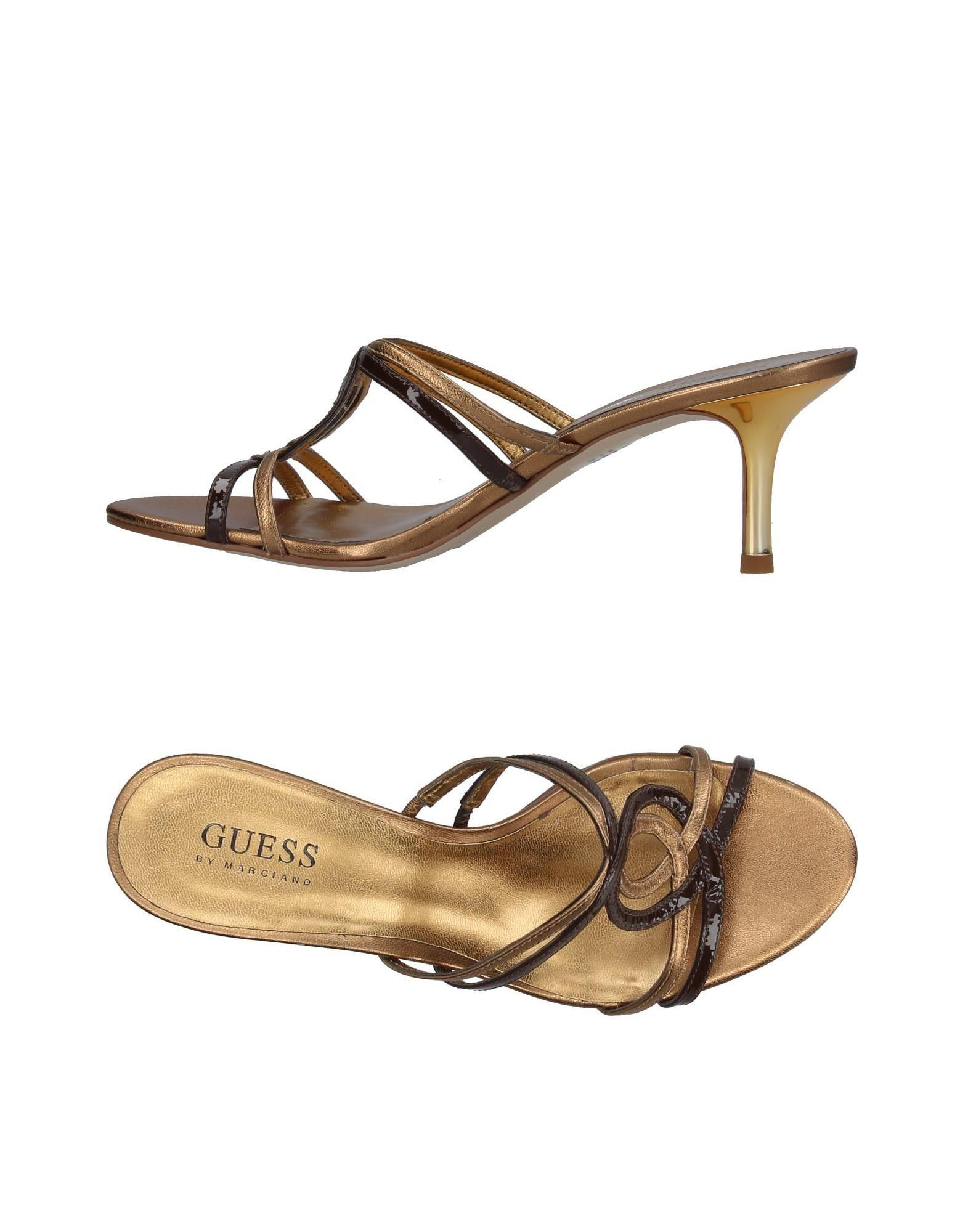 0f9cd2742891 Lyst - Guess Sandals in Brown