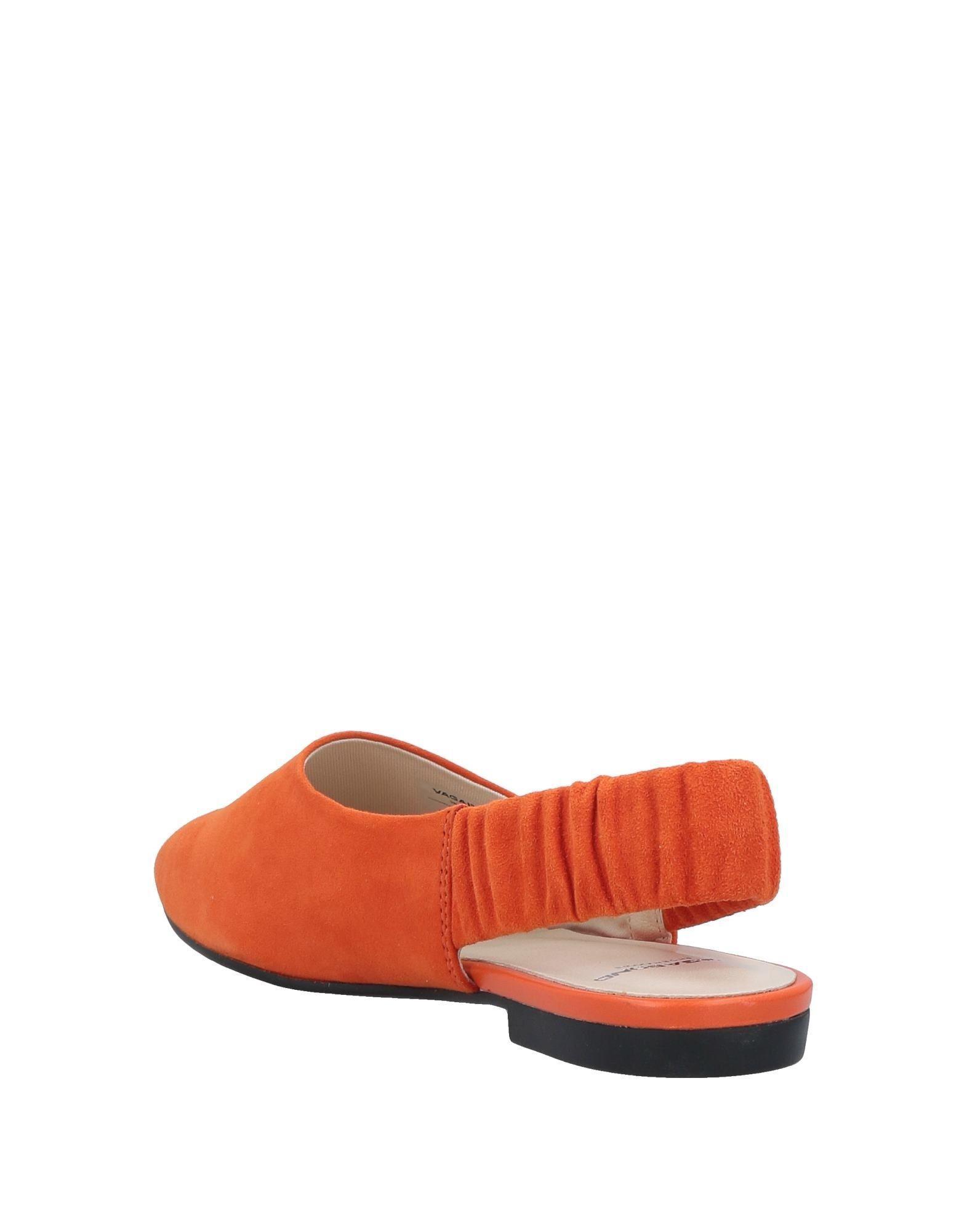 86863f5d18df Lyst - Vagabond Ballet Flats in Orange