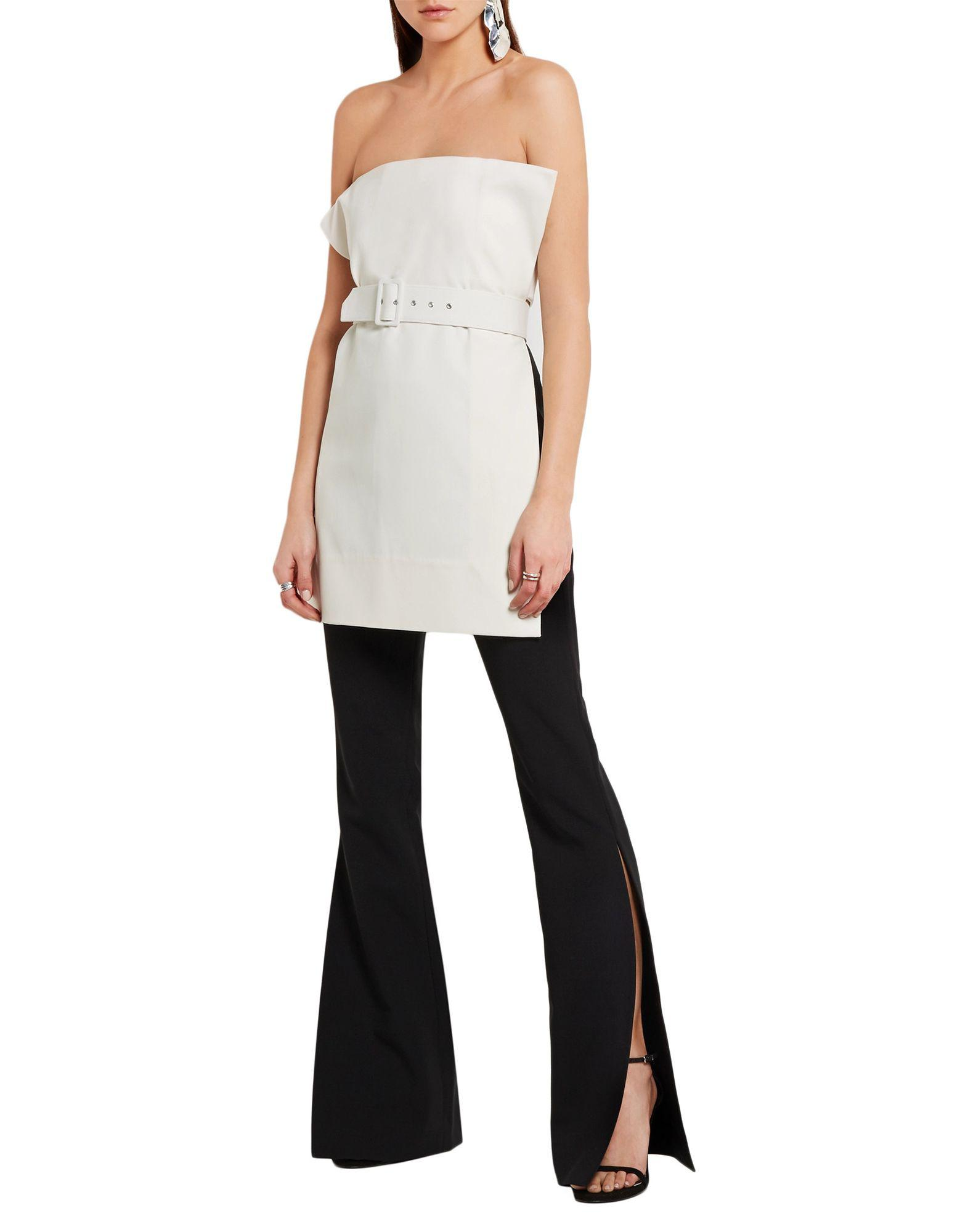 3738a35ccf Solace London Tube Top in White - Lyst