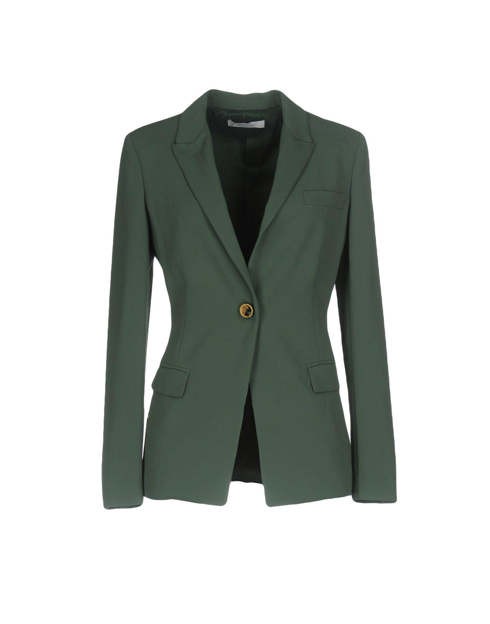 Lyst Veste Versace En Coloris Vert