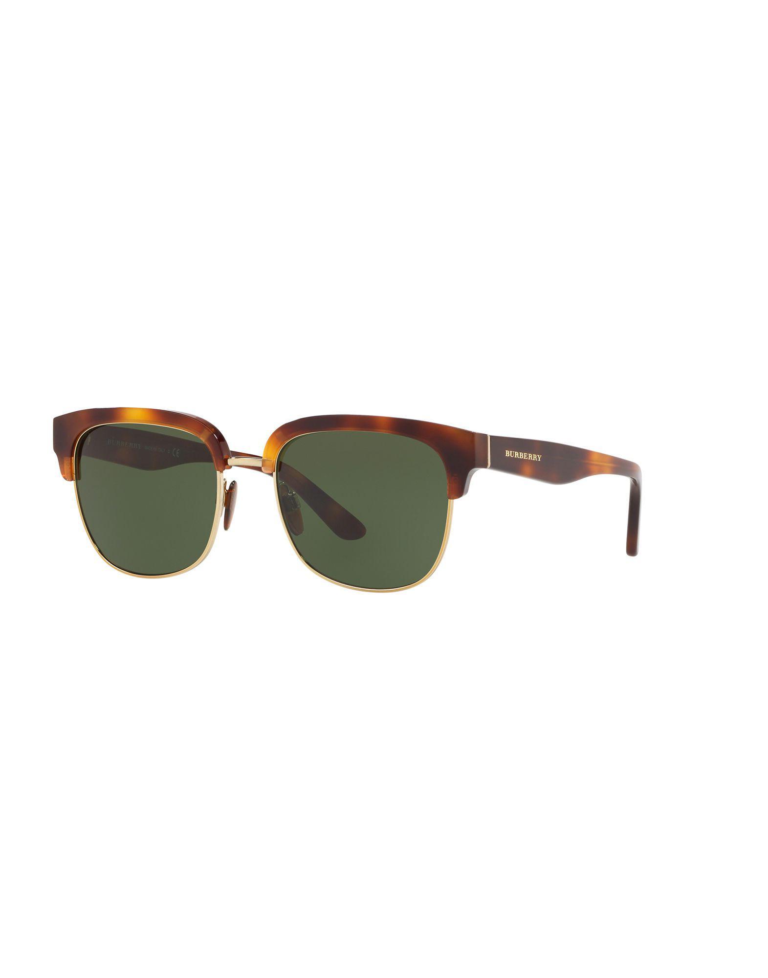 a1d4ffaf1b7 Burberry - Brown Sunglasses for Men - Lyst. View fullscreen