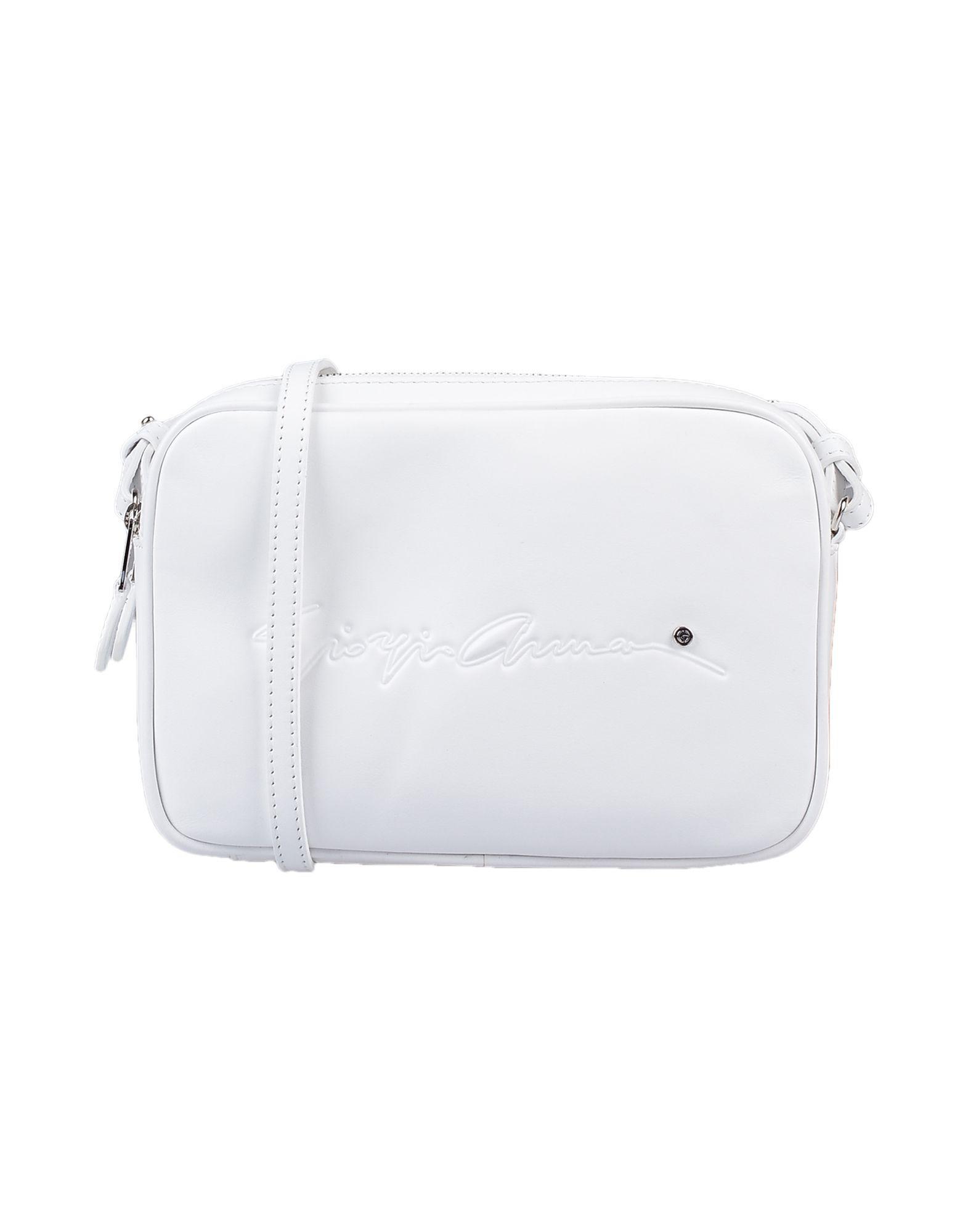 Giorgio Armani Cross-body Bag in White - Lyst 1805943d03