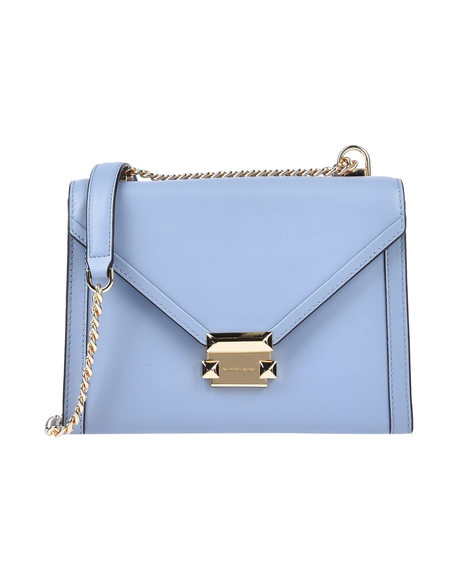 d9626feea9b13b MICHAEL Michael Kors Cross-body Bag in Blue - Lyst
