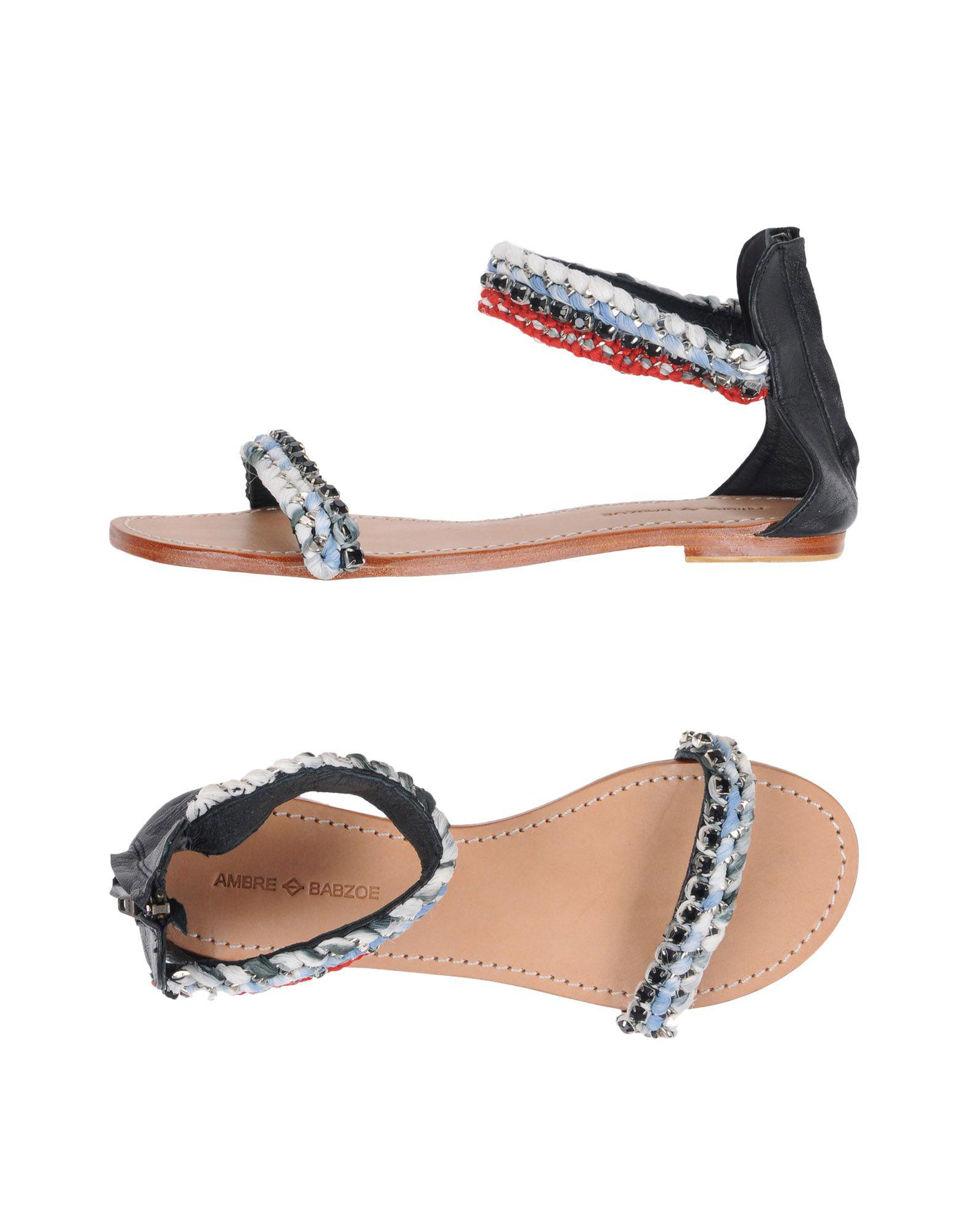 Clearance FOOTWEAR - Sandals Ambre Babzoe Latest Cheap Sale Latest Collections Buy Cheap Cost Ebay Cheap Price MdCdV