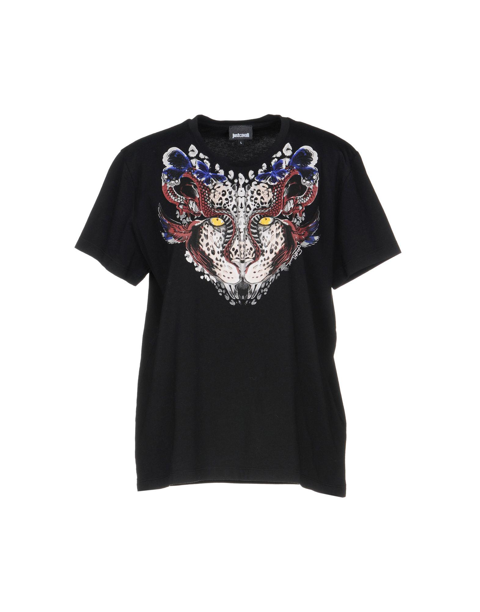 96406d6e0 Lyst - Just Cavalli T-shirt in Black for Men