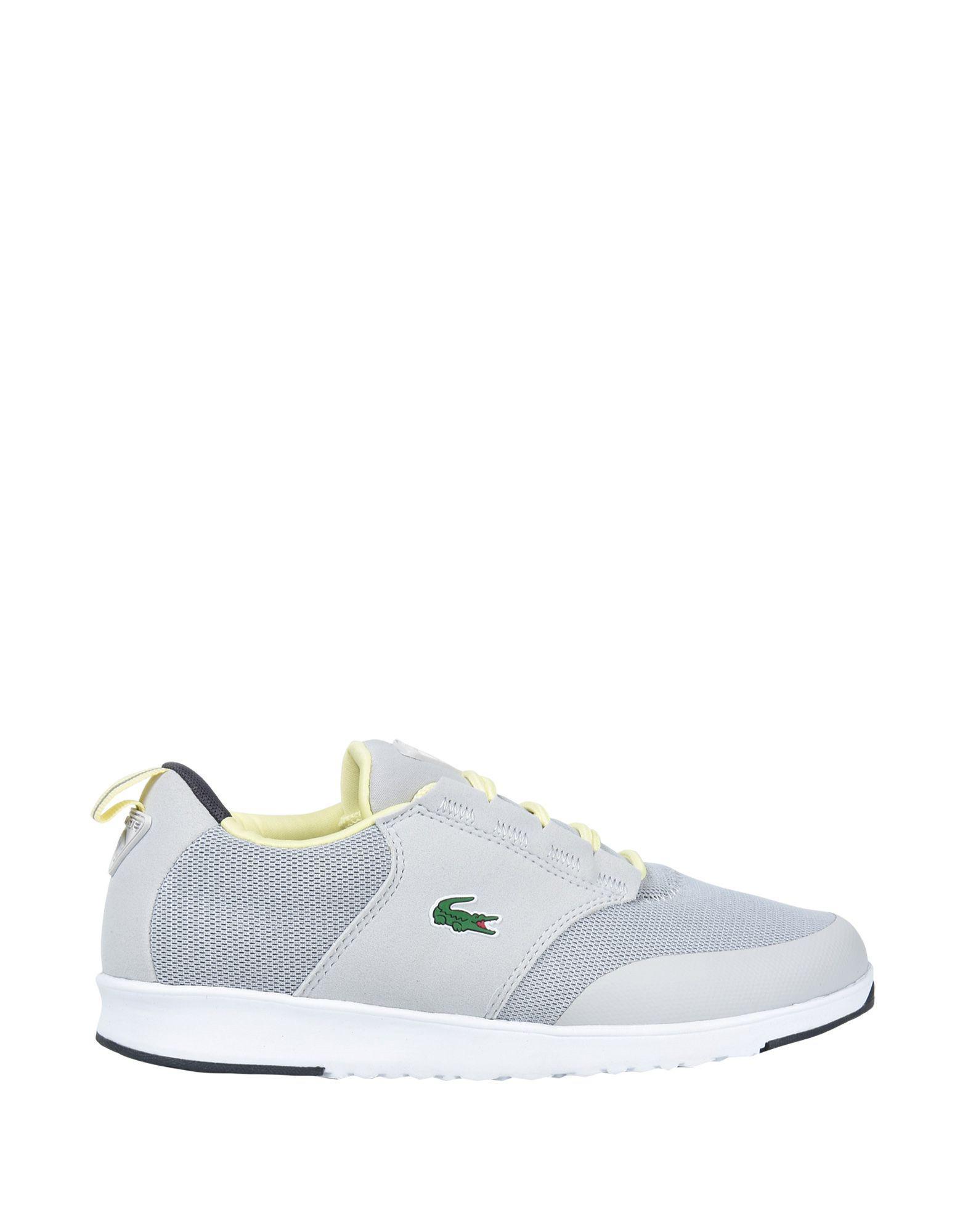 4796e65e485ee5 Lyst - Lacoste Sport Low-tops   Sneakers in Gray