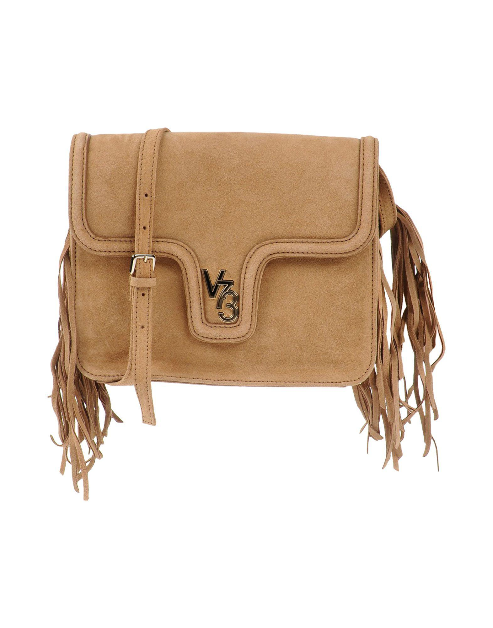 2953c2b404a V73 - Natural Cross-body Bag - Lyst. View fullscreen