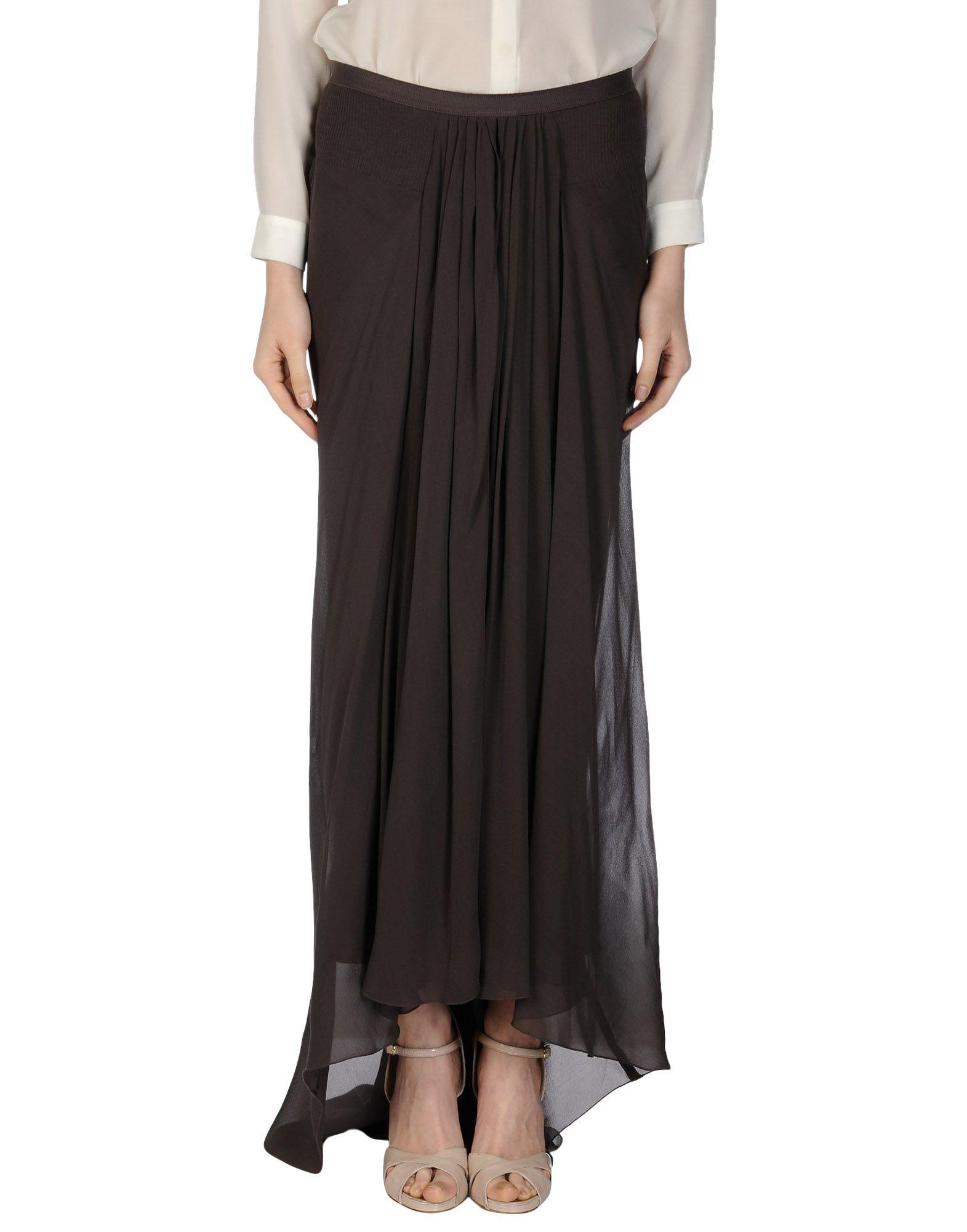 rick owens skirt in gray grey lyst