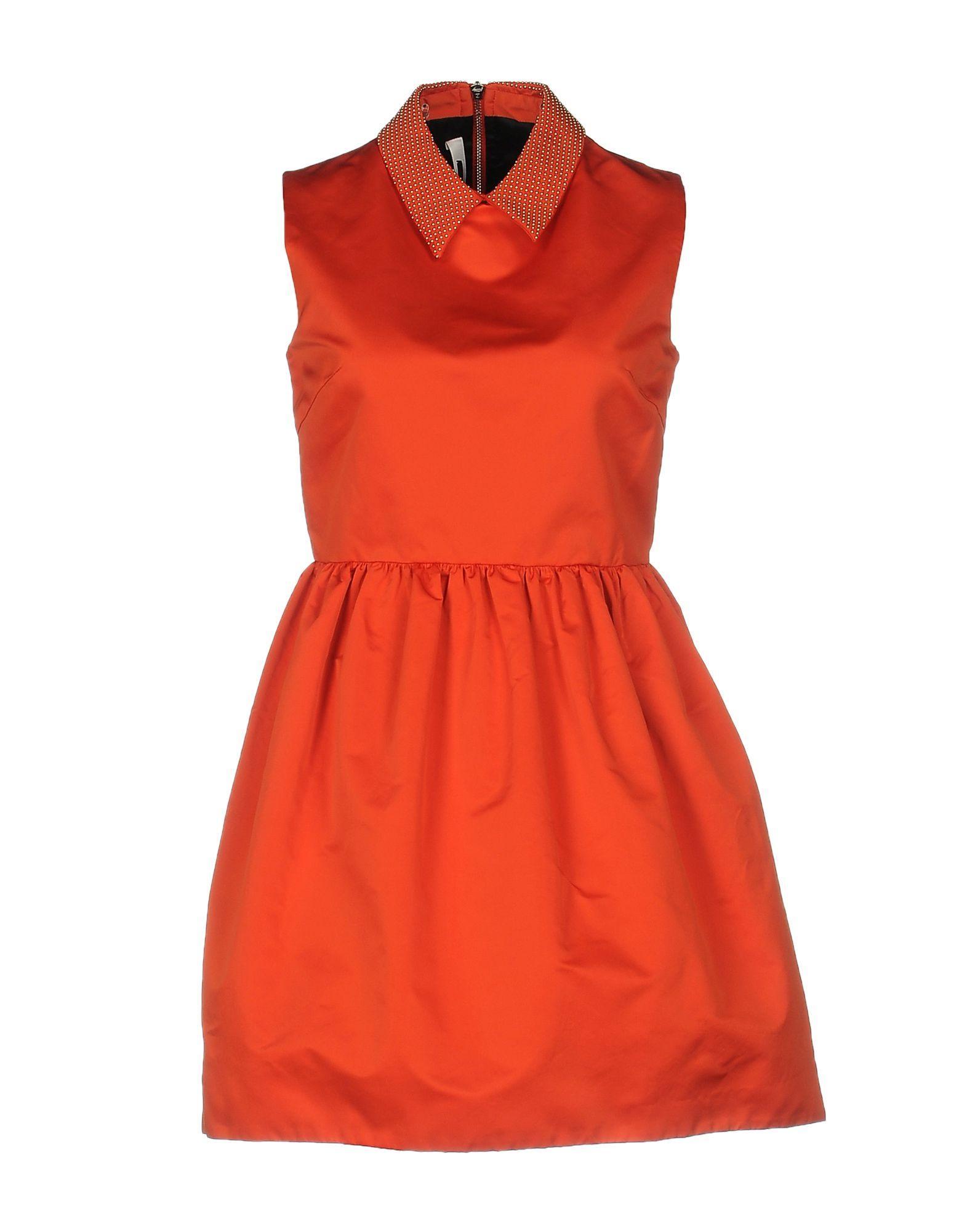 Mcq alexander mcqueen Short Dress in Red