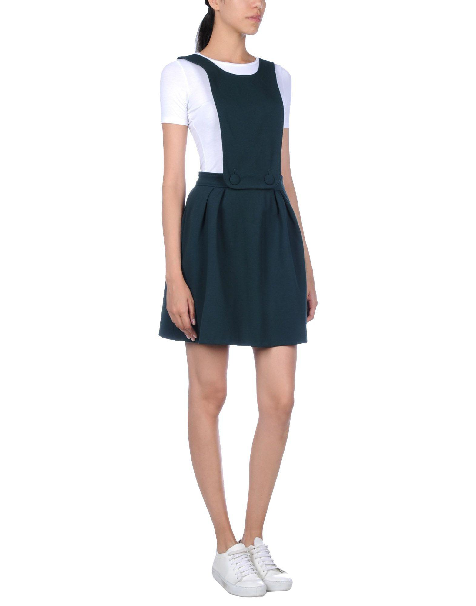 983566fb4b Lyst - Pinko Overall Skirt in Green