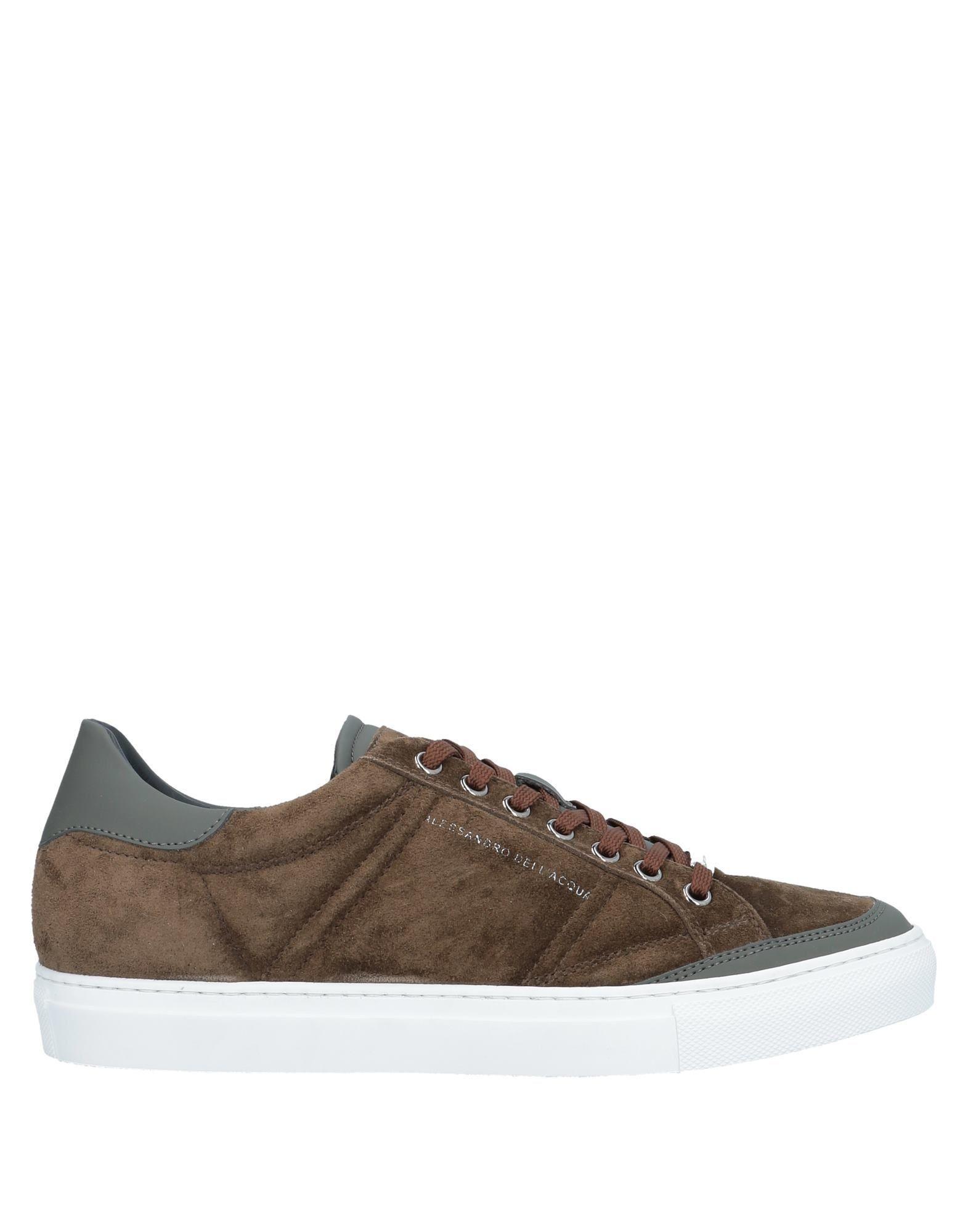 Alessandro Dellacqua Zip Detail Lowtop Sneakers in Black