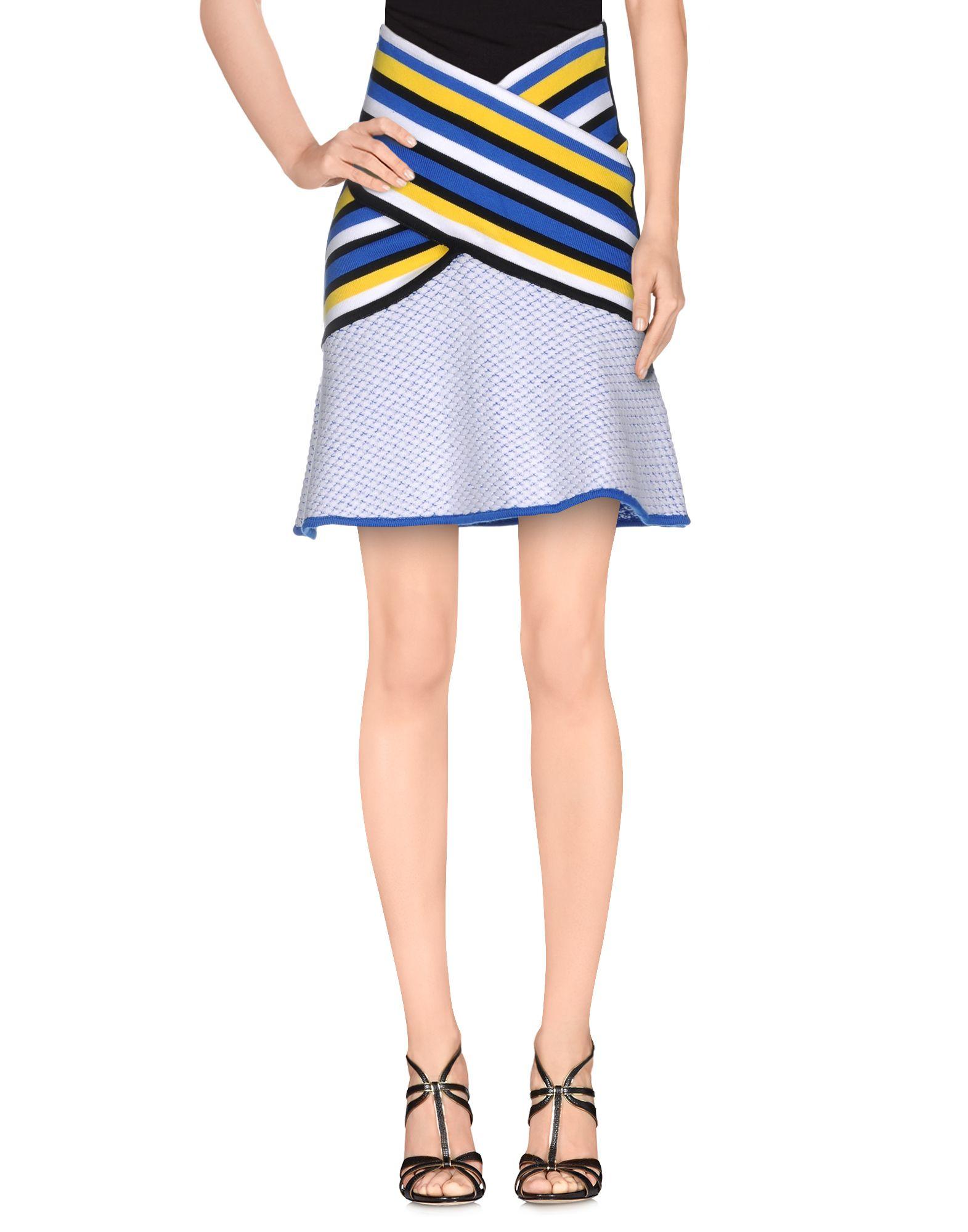 0d65d7bf80 Prabal Gurung Knee Length Skirt in Blue - Lyst