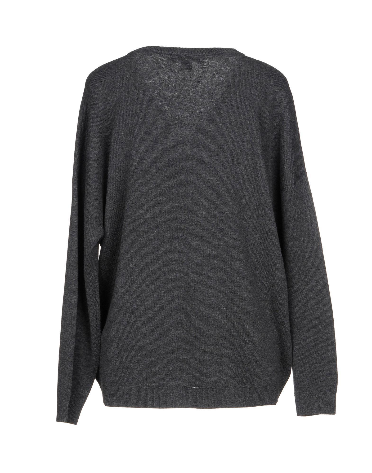3b9dded6604 Lyst - DKNY Sweater in Gray