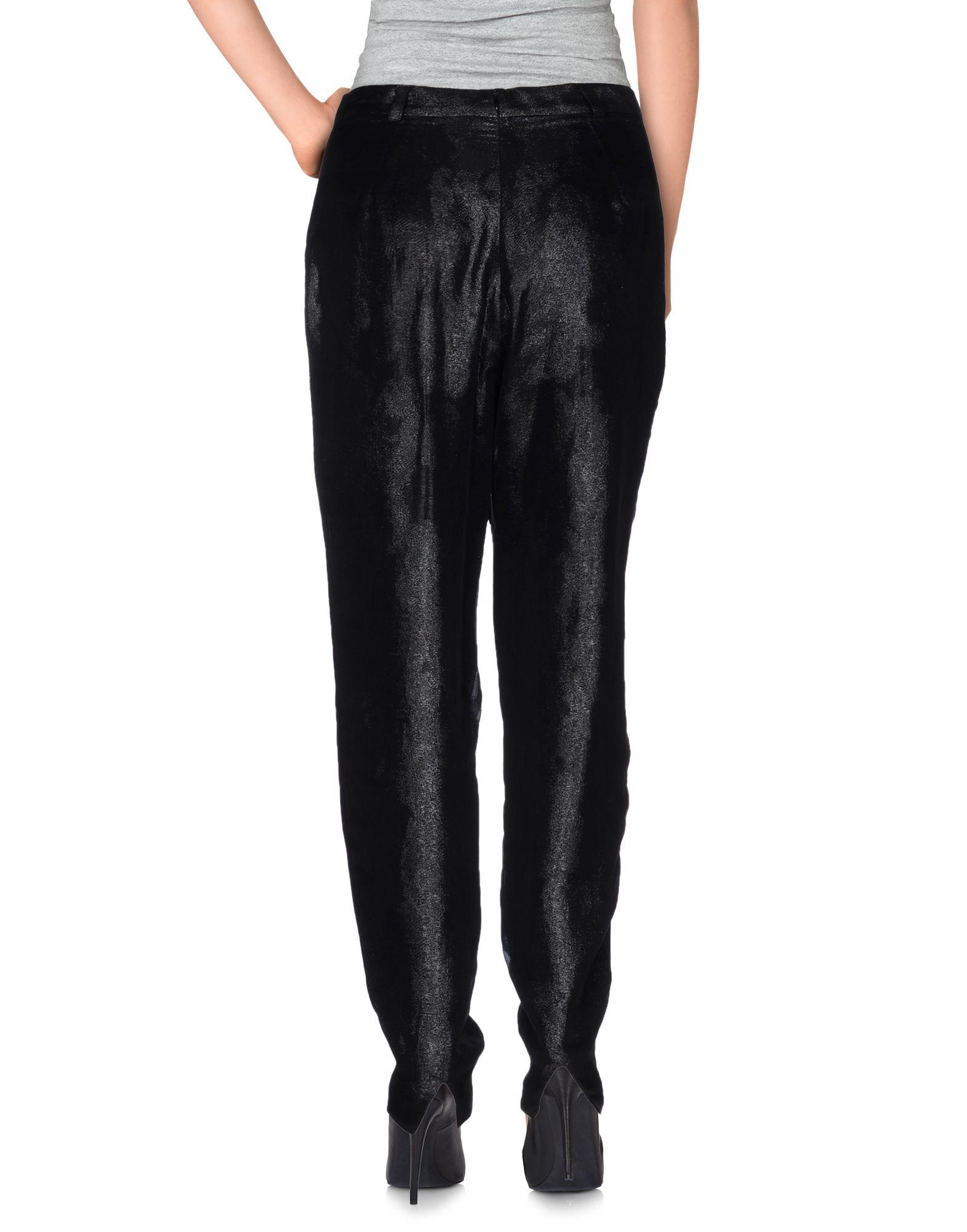 Lyst pedro del hierro madrid casual pants in black - Miss sixty madrid ...