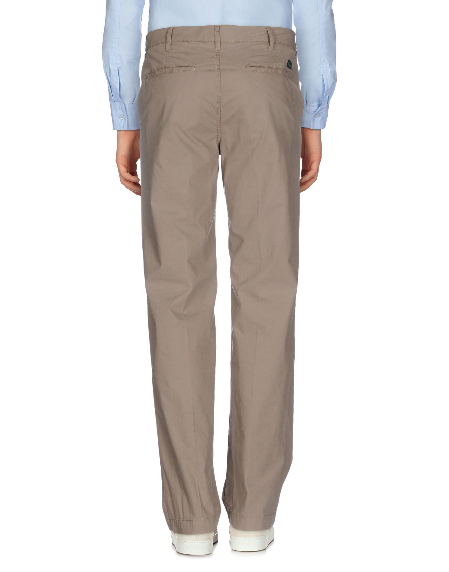 Lyst Lacoste Casual Pants In Natural For Men