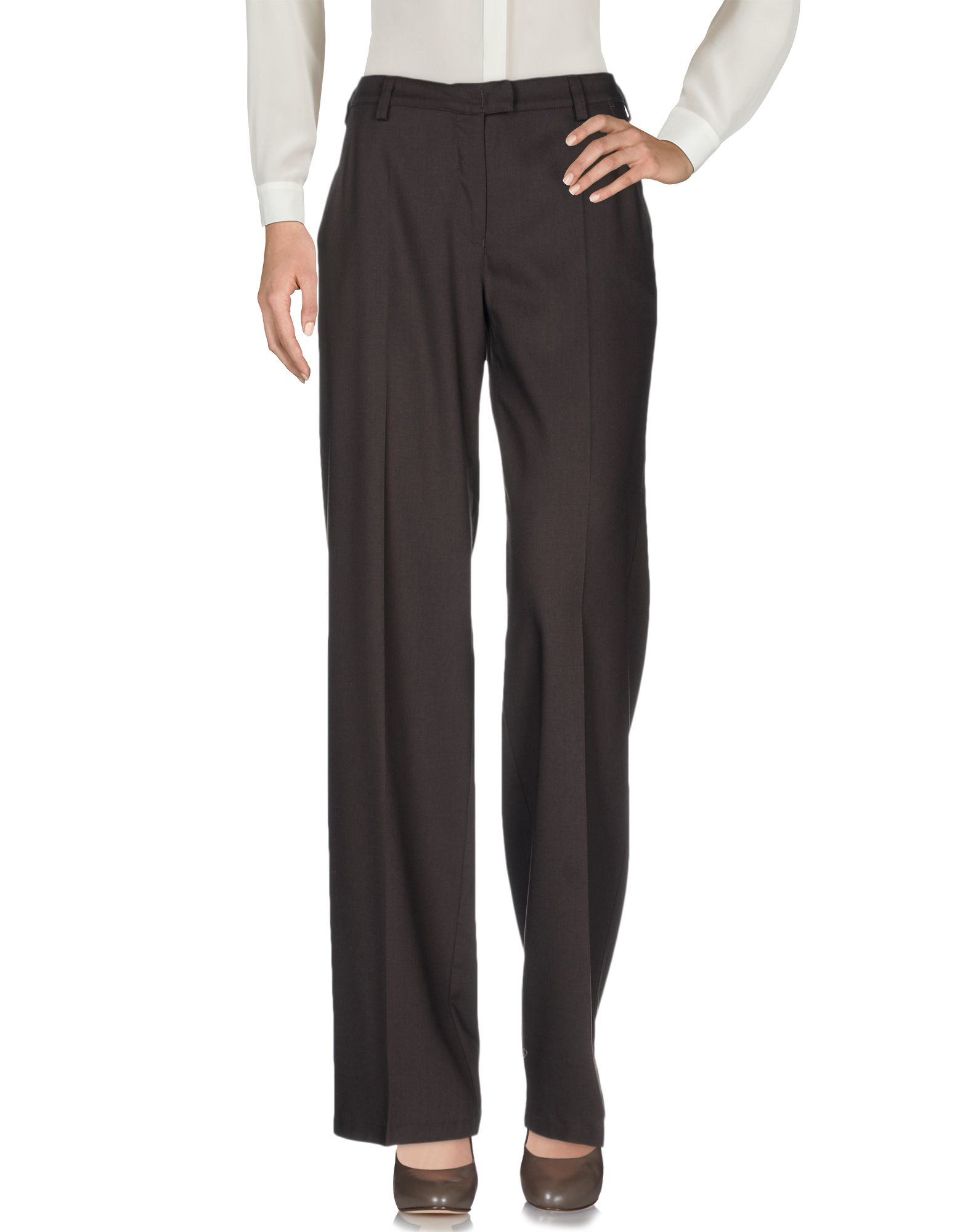 Perfect Women With Control Pants XXST Pull On Elastic Waist Dark Brown  EBay